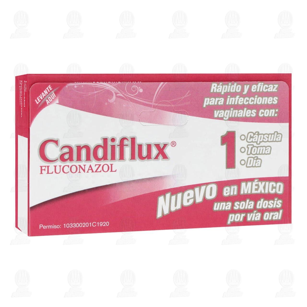 Comprar Candiflux 1 Cápsula en Farmacias Guadalajara