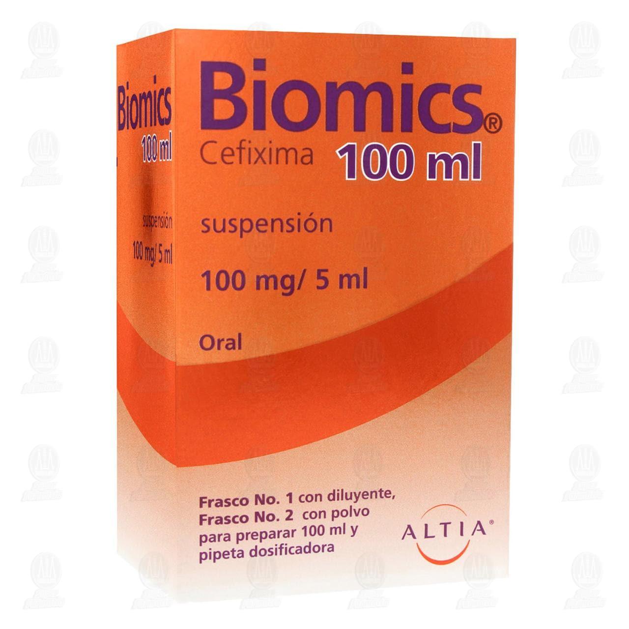 Comprar Biomics 100mg/5ml 100ml Suspensión en Farmacias Guadalajara