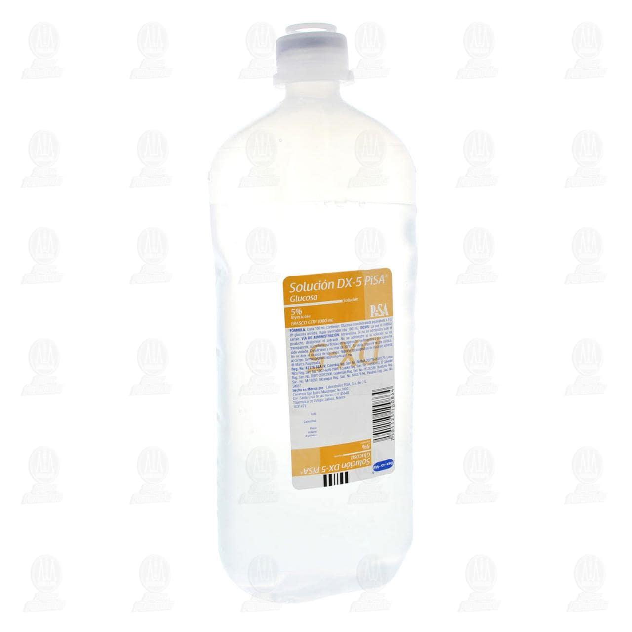 Dextrosa 5 % 1000ml Pisa Solución