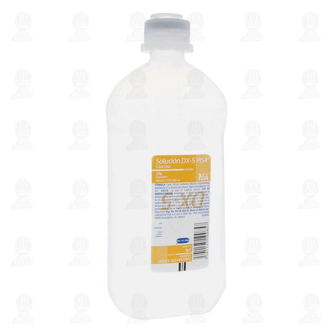 Dextrosa 5 % 500ml Pisa Solución