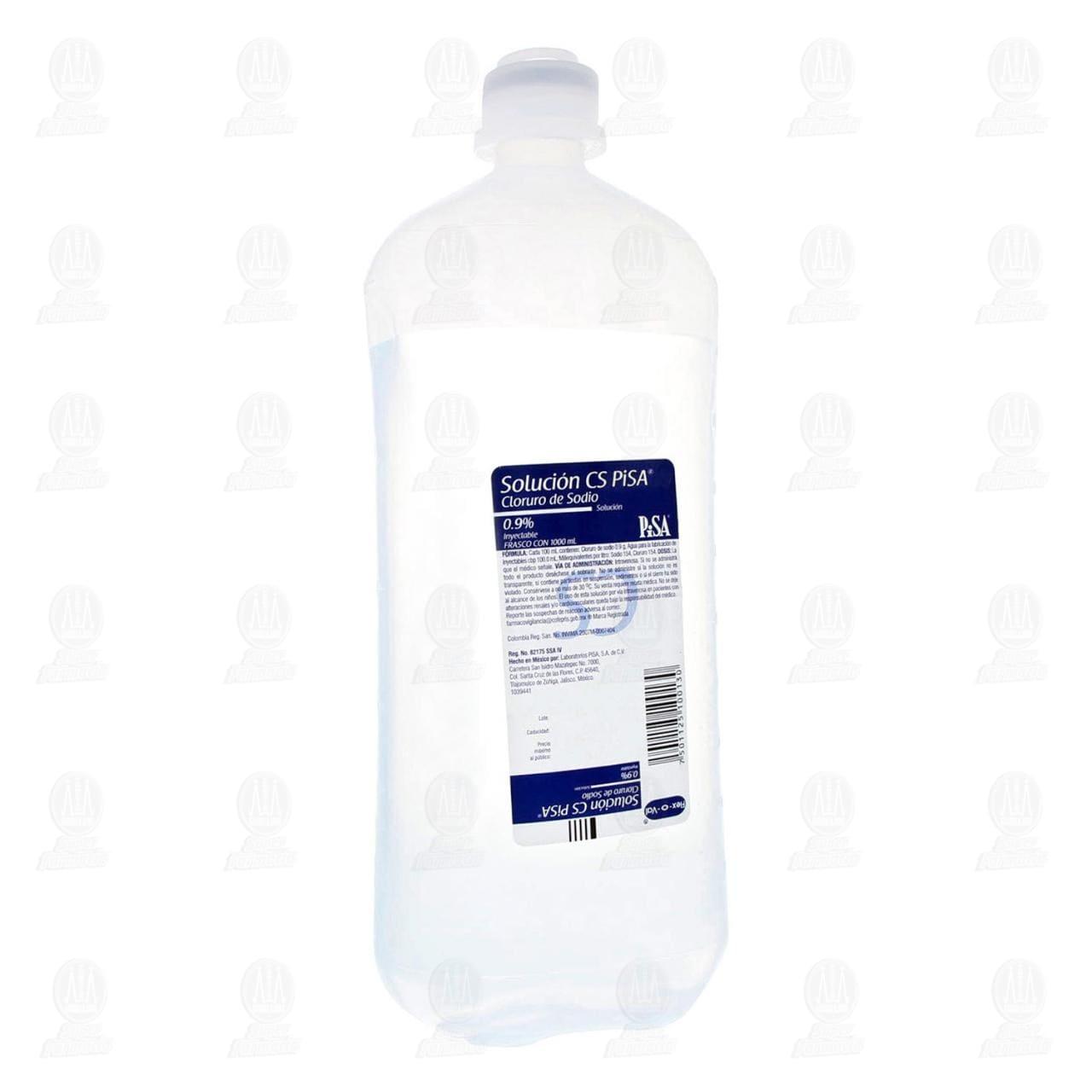 Comprar Solución Cloruro de Sodio O.9% 1000ml en Farmacias Guadalajara