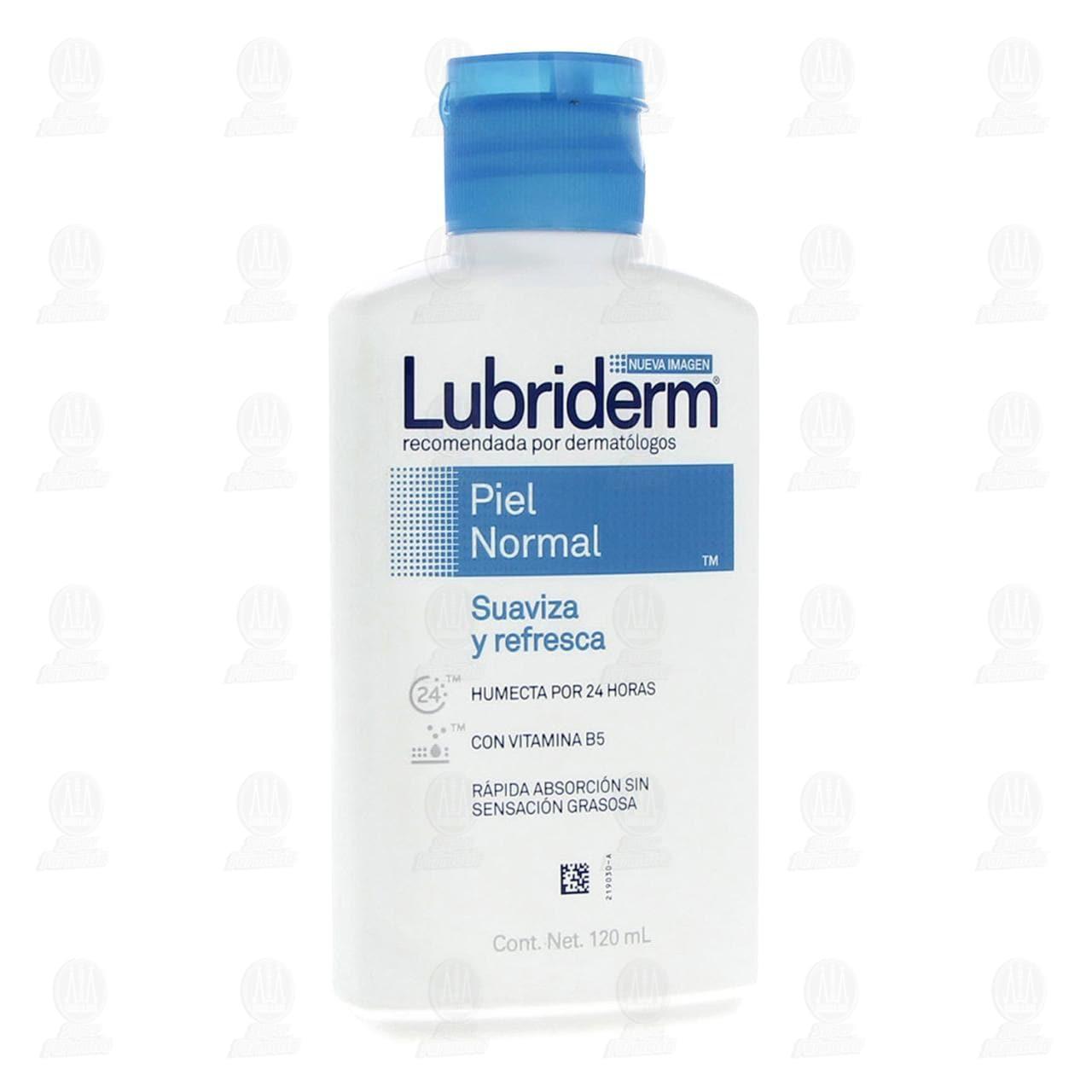 Comprar Crema Corporal Lubriderm Piel Normal, 120 ml. en Farmacias Guadalajara