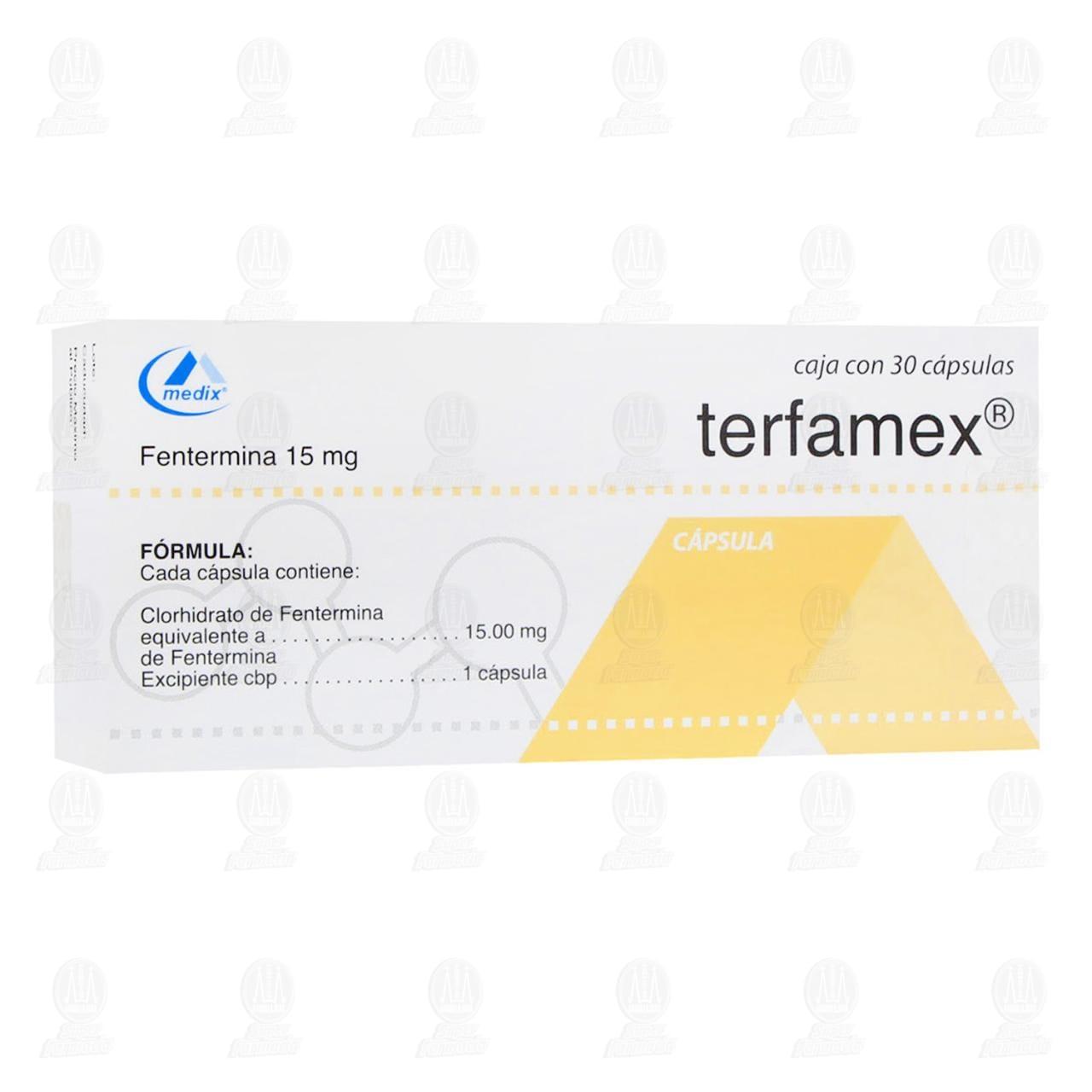 Comprar Terfamex 15mg 30 Cápsulas en Farmacias Guadalajara