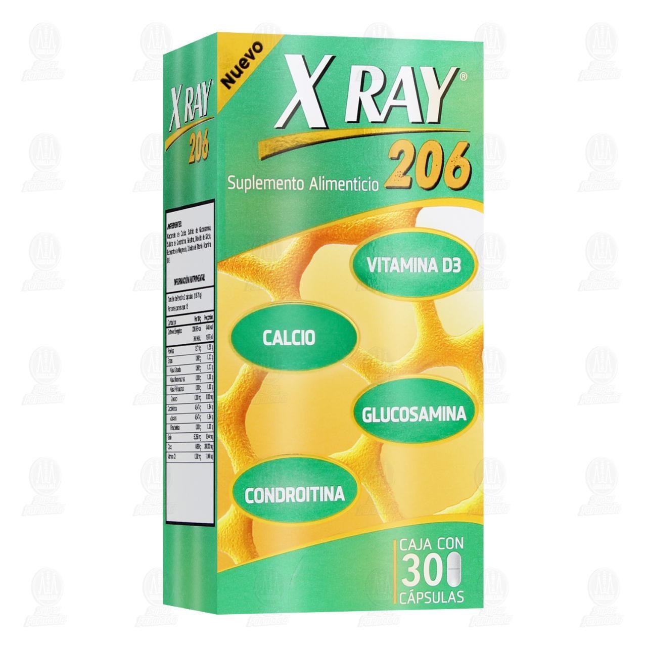 Comprar X Ray Sistema Óseo 30 Cápsulas en Farmacias Guadalajara