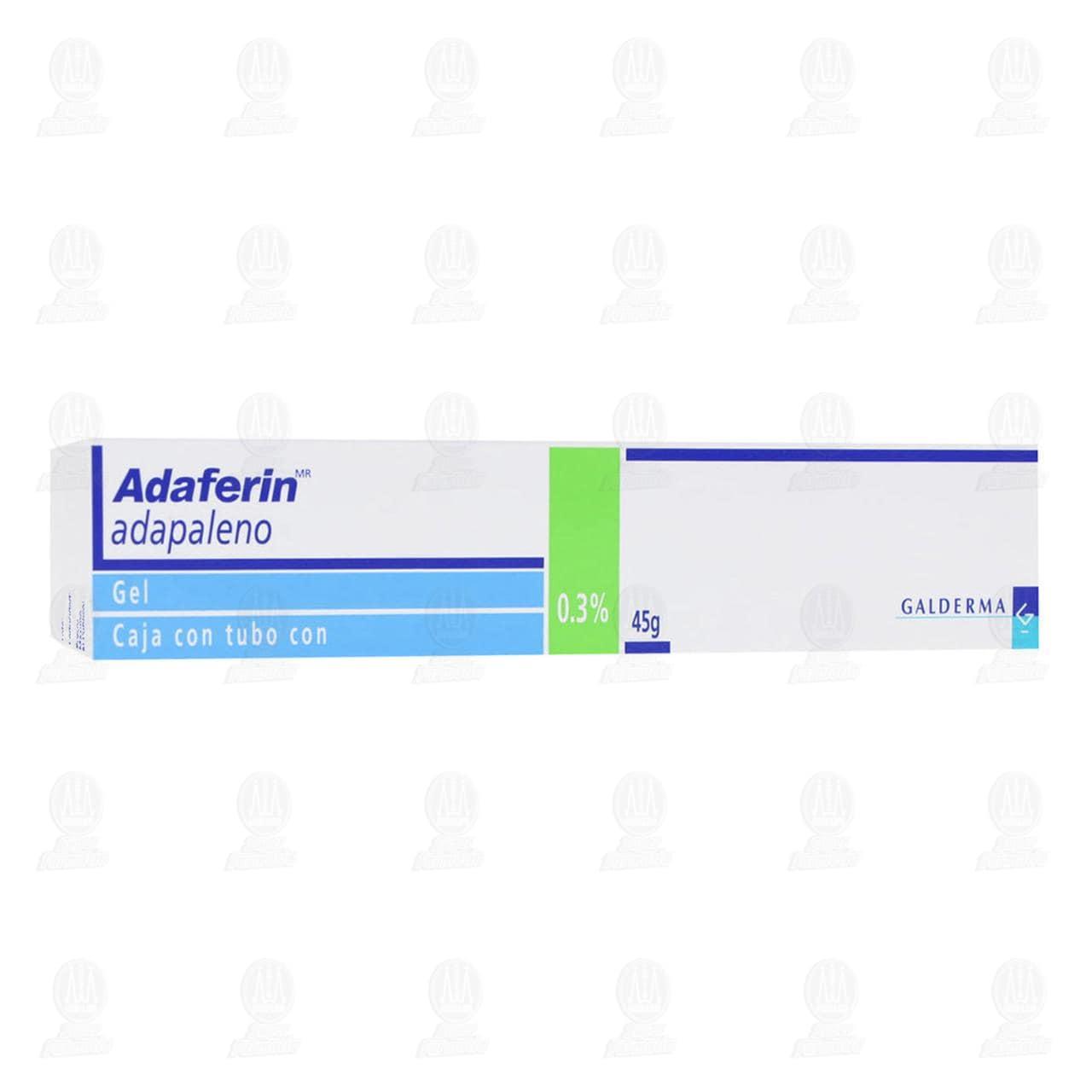 Comprar Adaferin Gel 0.3%, 45 gr. en Farmacias Guadalajara