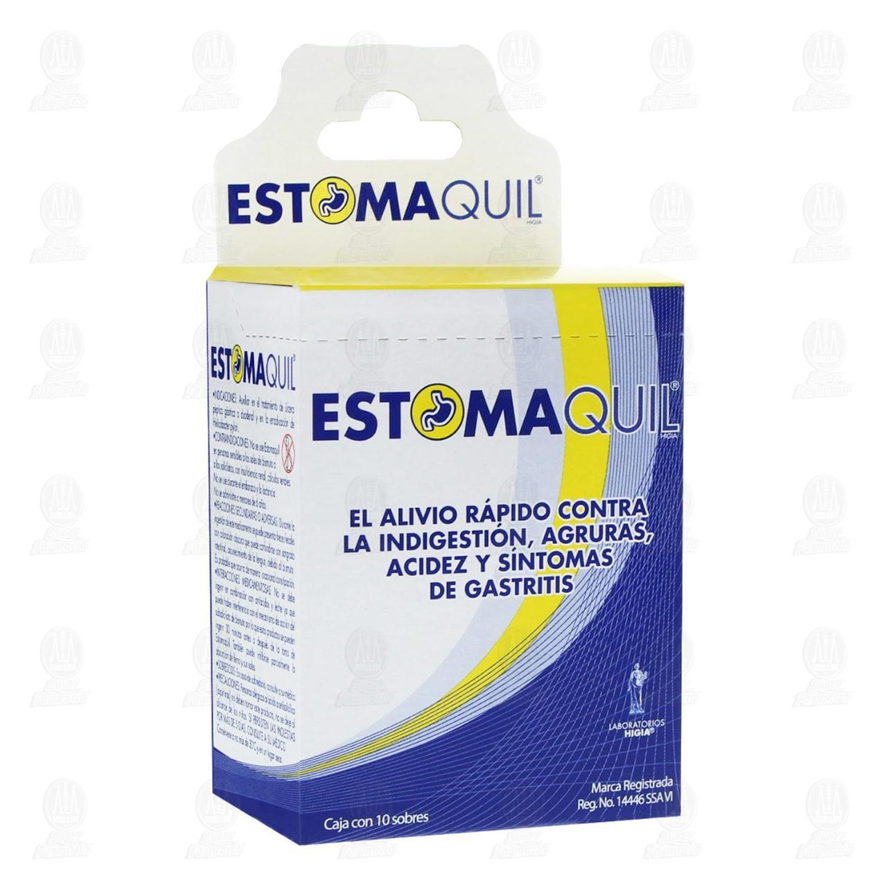 Comprar Estomaquil 3gr con 10 Sobres Polvo en Farmacias Guadalajara
