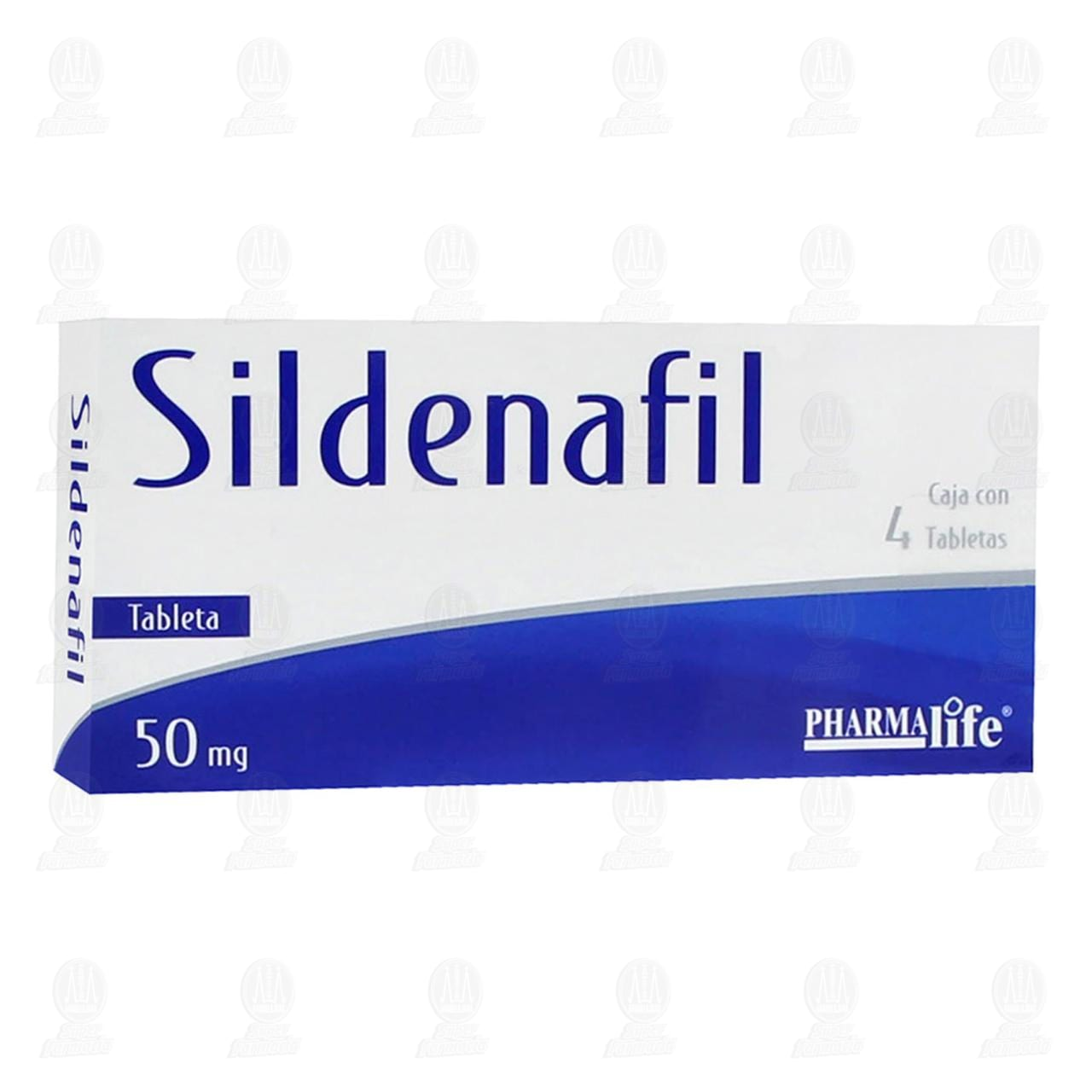 Sildenafil 50mg 4 Tabletas Pharmalife