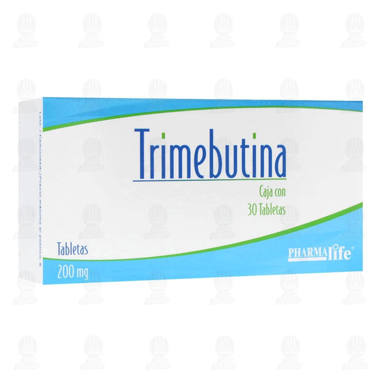 Comprar Trimebutina 200mg 30 Tabletas Pharmalife en Farmacias Guadalajara