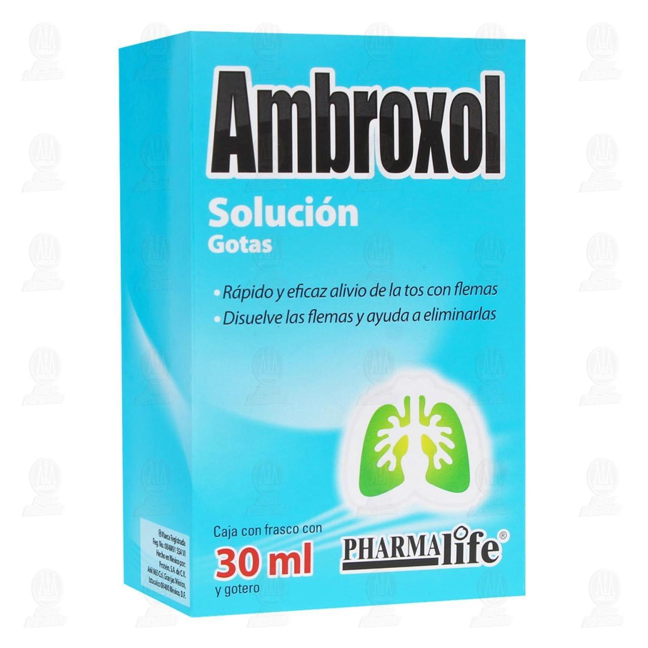 Comprar Ambroxol Solución Gotas 30ml Pharmalife en Farmacias Guadalajara