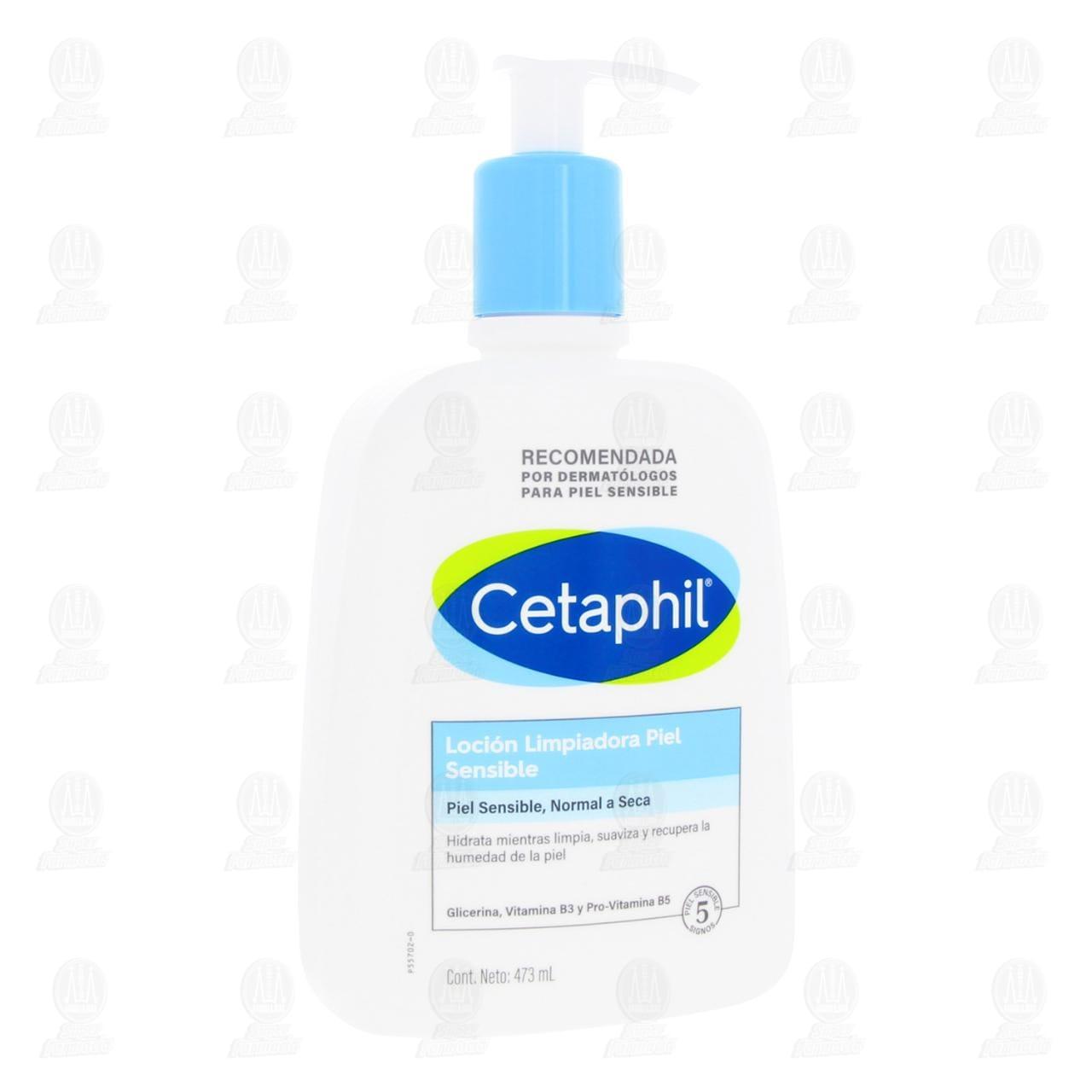 Comprar Cetaphil Loción Limpiadora, 473 ml. en Farmacias Guadalajara