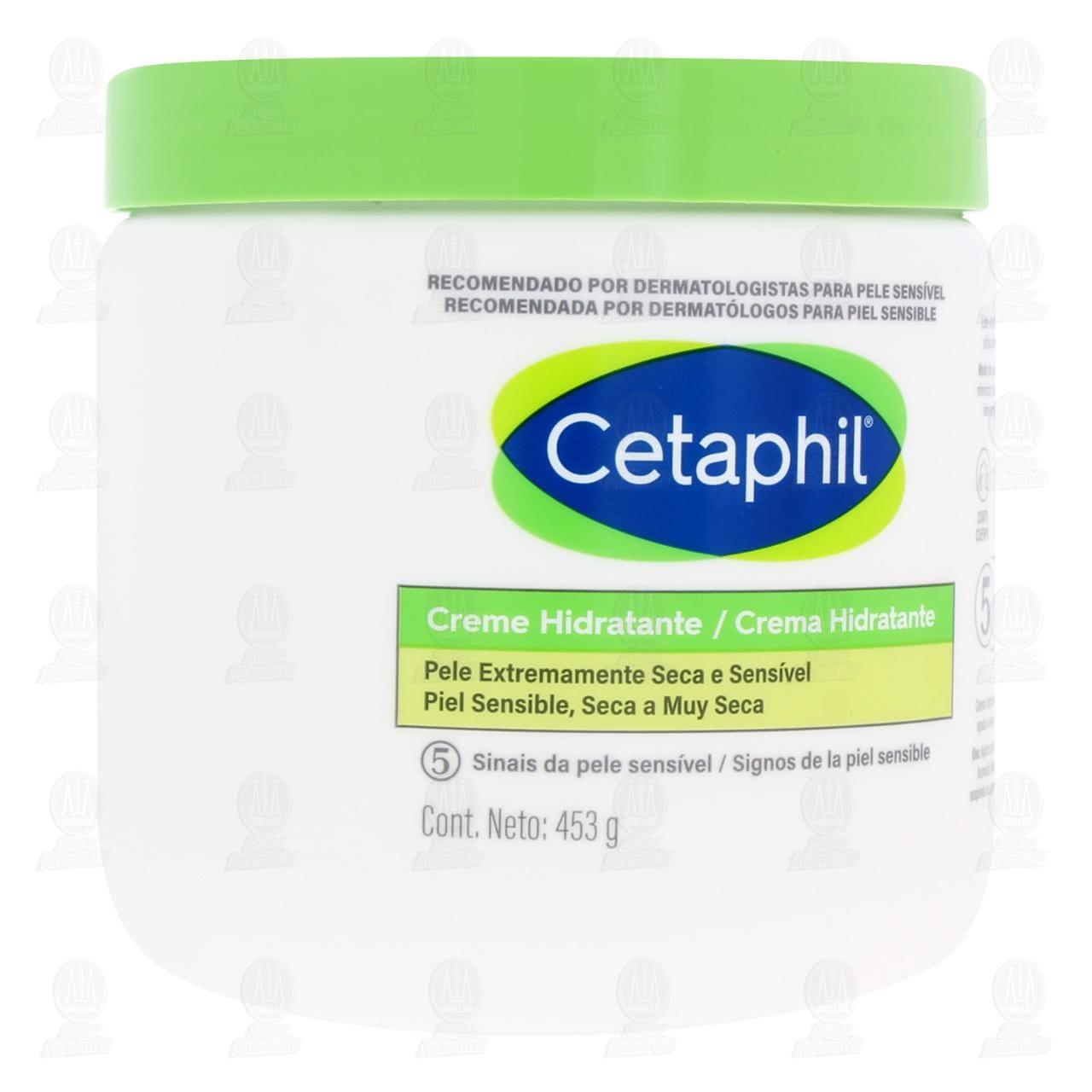 Comprar Cetaphil Crema Humectante, 453 gr. en Farmacias Guadalajara