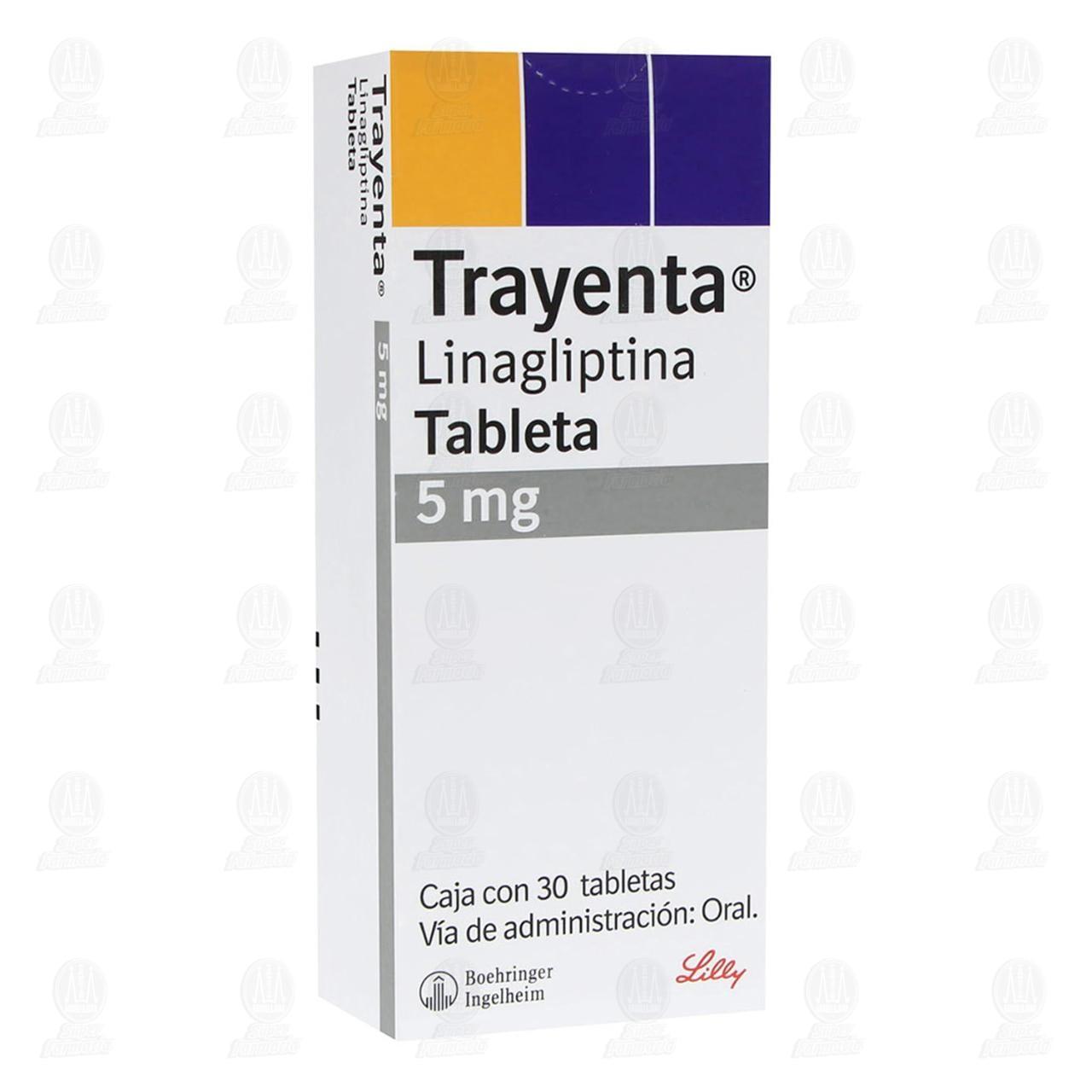 Trayenta 5mg 30 Tabletas