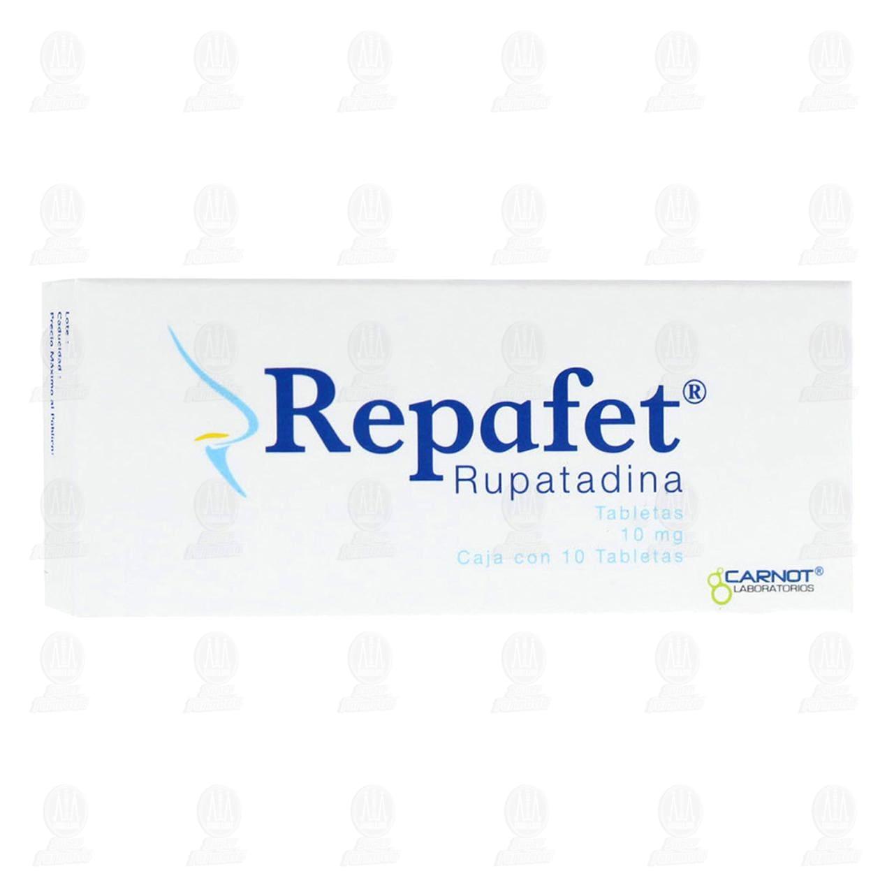 Comprar Repafet 10mg 10 Tabletas en Farmacias Guadalajara