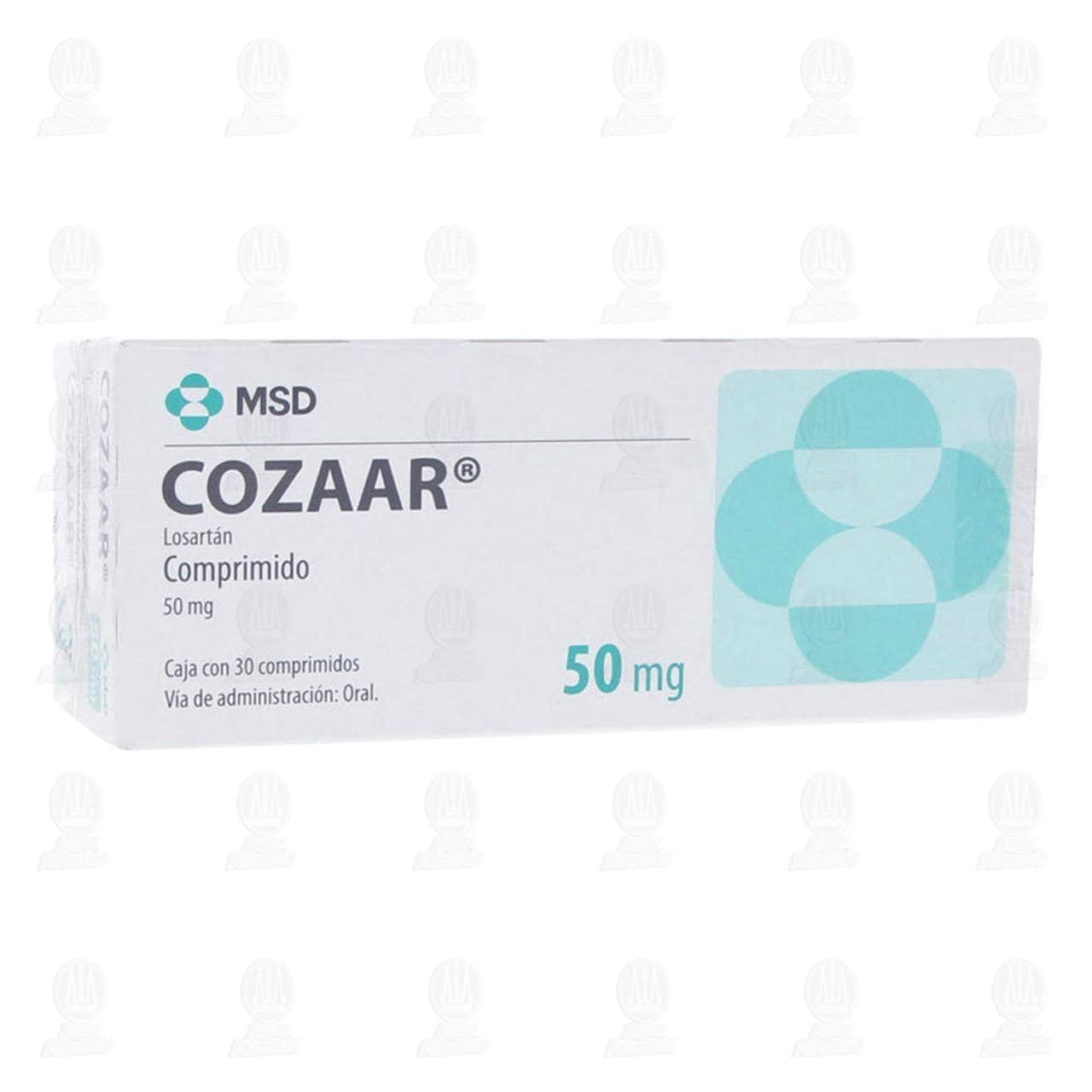 Comprar Cozaar 50mg 2 Cajas 30 Comprimidos c/u en Farmacias Guadalajara