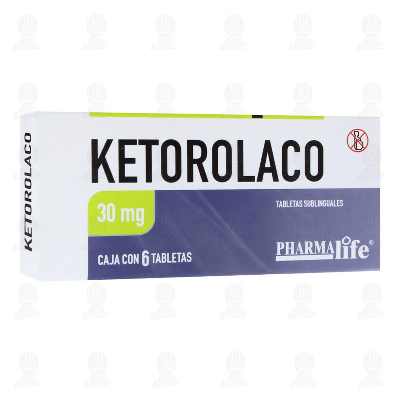 Comprar Ketorolaco 30mg 6 Tabletas Pharmalife en Farmacias Guadalajara