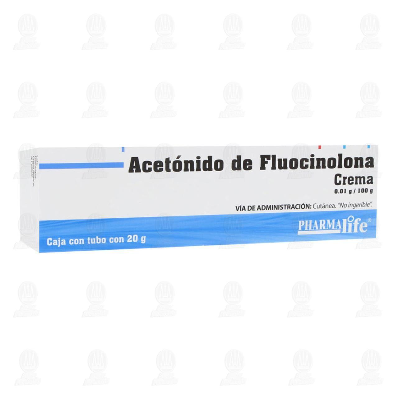 Comprar Acetónido Fluocinolona 20g Crema Pharmalife en Farmacias Guadalajara