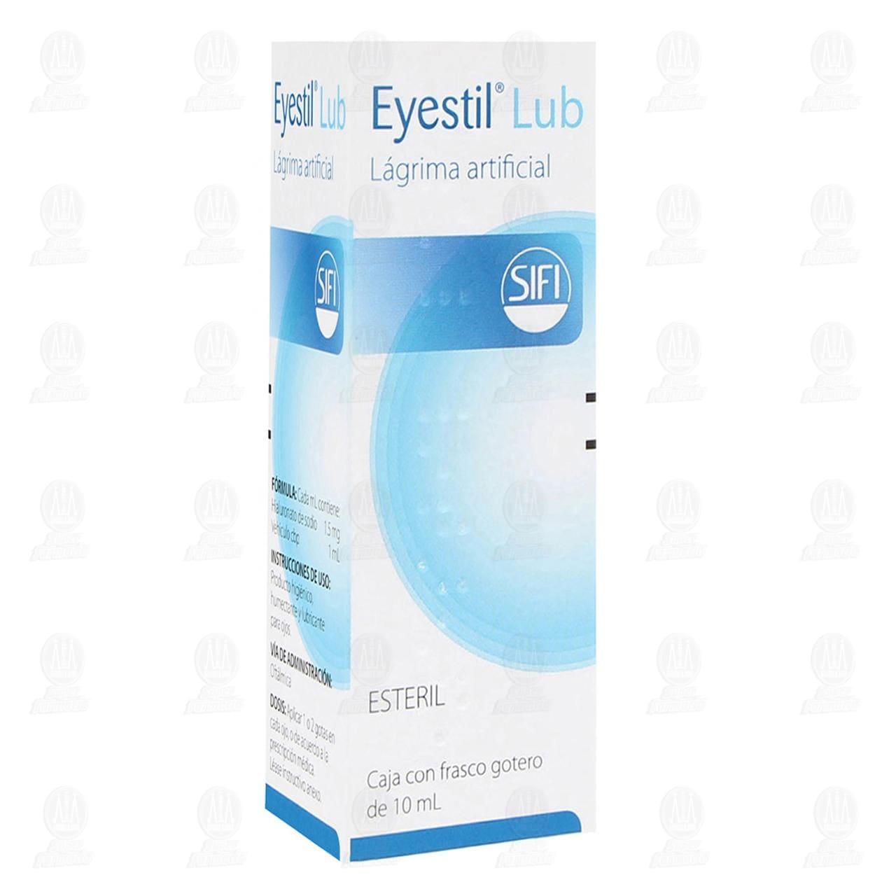 Comprar Eyestil Lubricante 10ml Solución Oftálmica en Farmacias Guadalajara