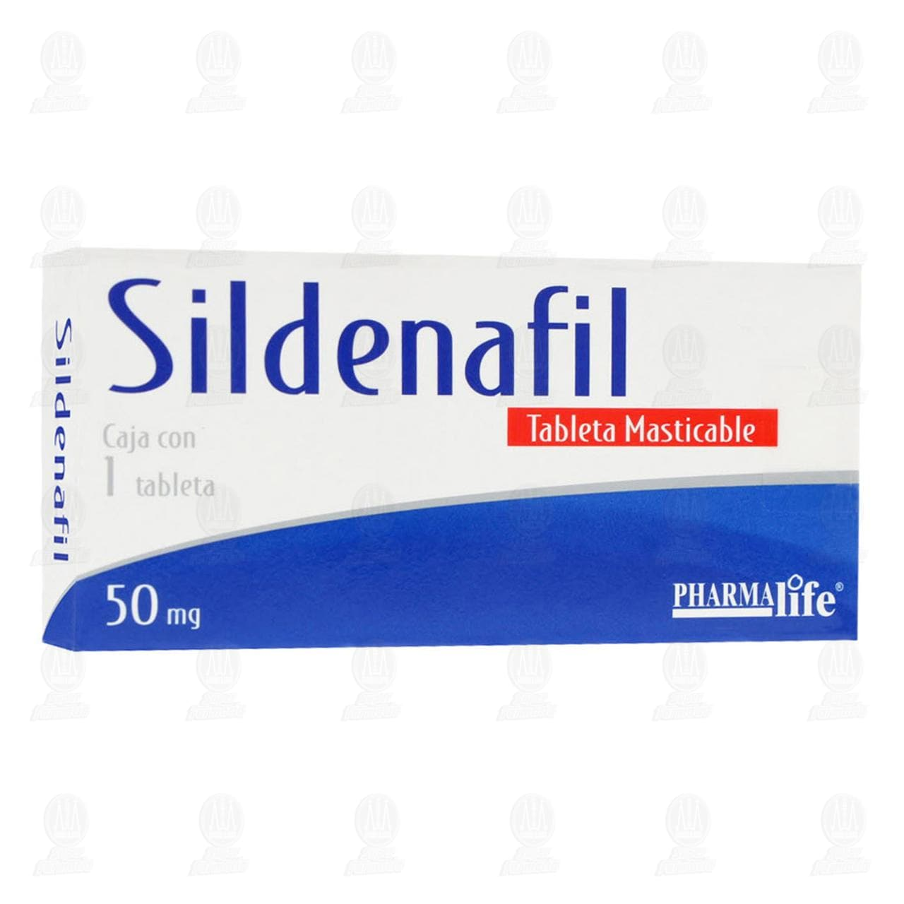Comprar Sildenafil 50mg 1 Tableta Masticable Pharmalife en Farmacias Guadalajara