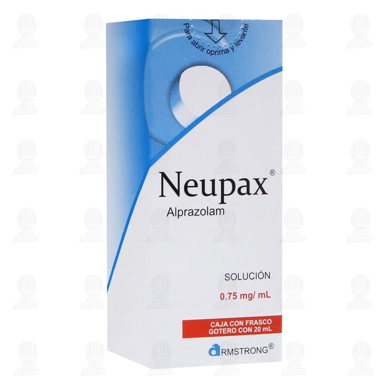 Comprar Neupax Solución 0.75mg/ml 20ml en Farmacias Guadalajara