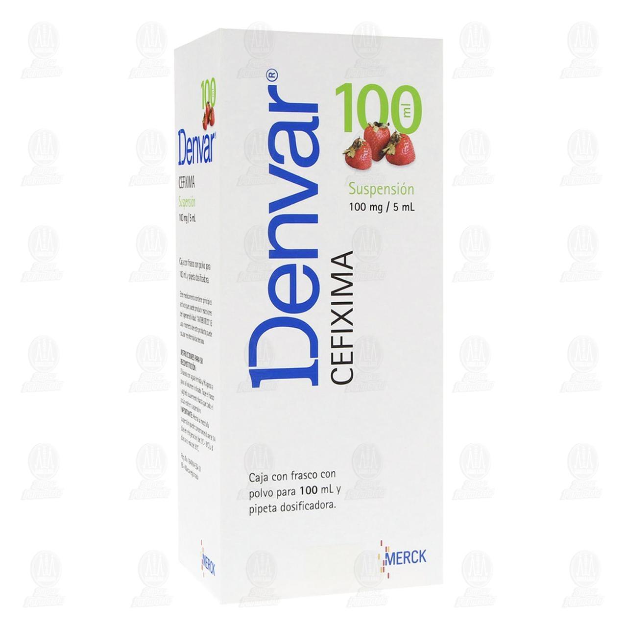 Comprar Denvar 100mg/5ml 100ml Suspensión en Farmacias Guadalajara