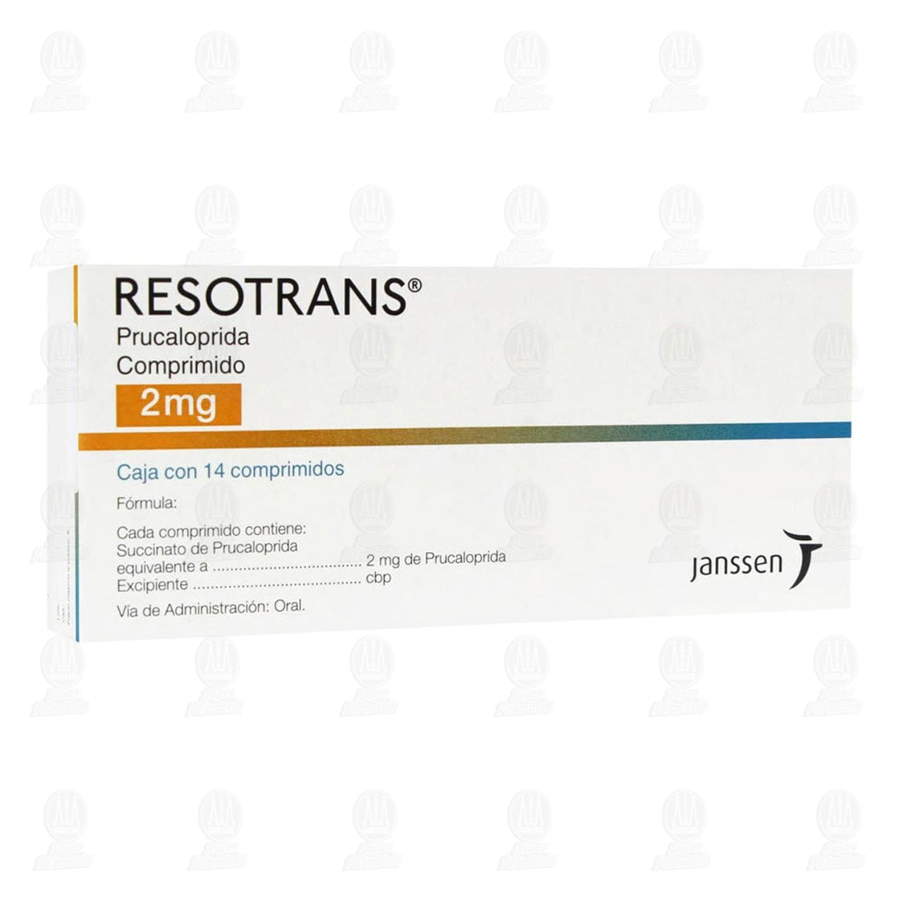 Resotrans 2mg 14 Comprimidos