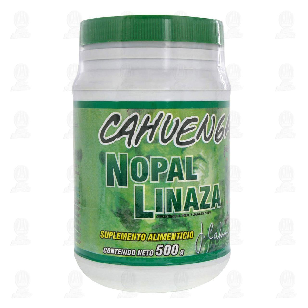 Comprar Cahuenga 500gr Nopal Linaza en Farmacias Guadalajara