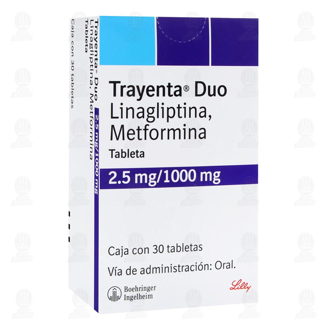 Comprar Trayenta Duo 2.5mg/1000mg 30 Tabletas en Farmacias Guadalajara