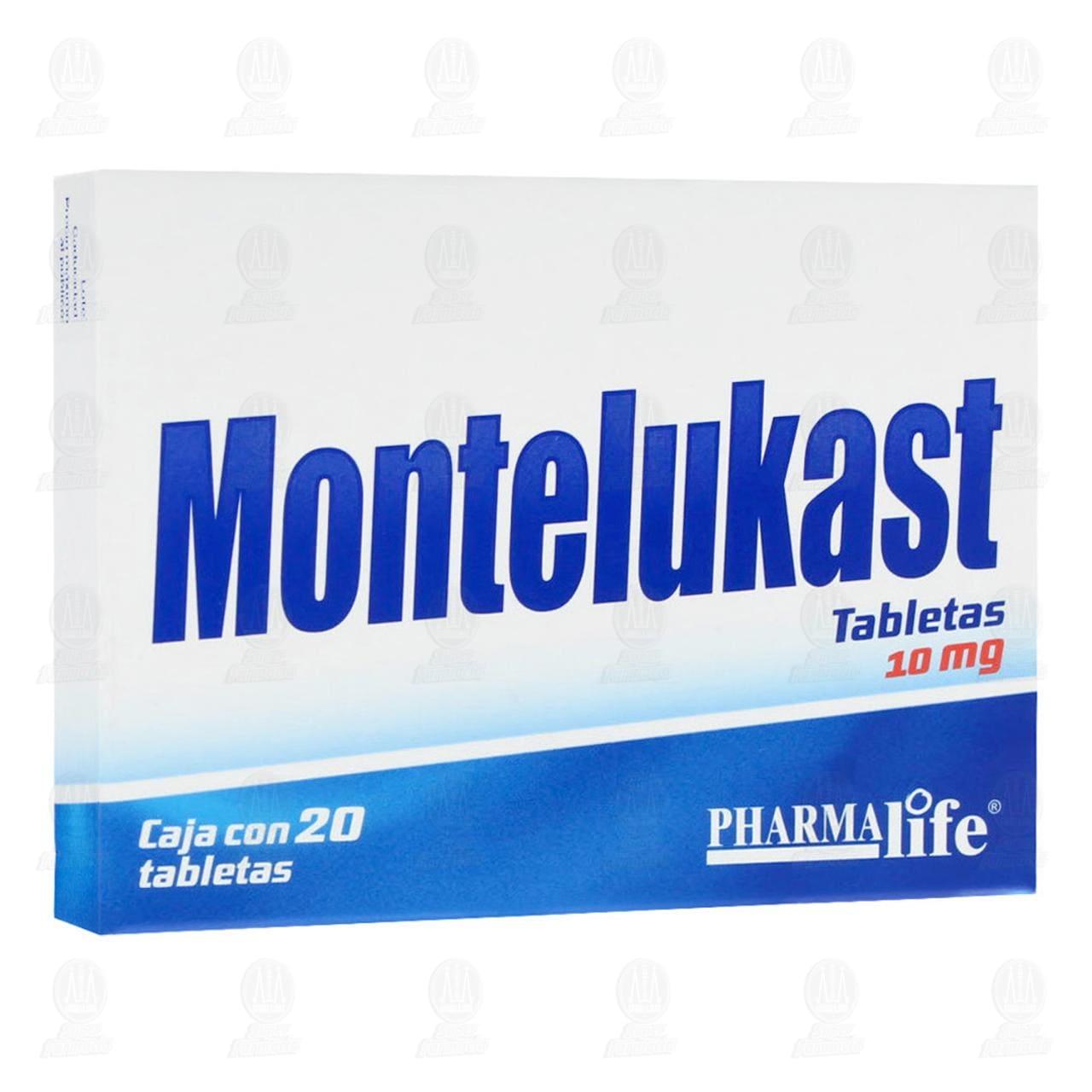 Montelukast 10mg 20 Tabletas Pharmalife