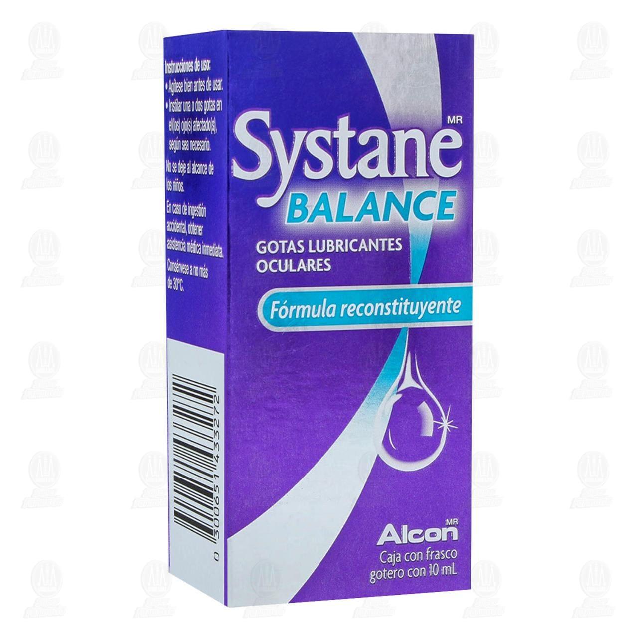 Comprar Systane Balance 10ml Gotas Lubricantes en Farmacias Guadalajara
