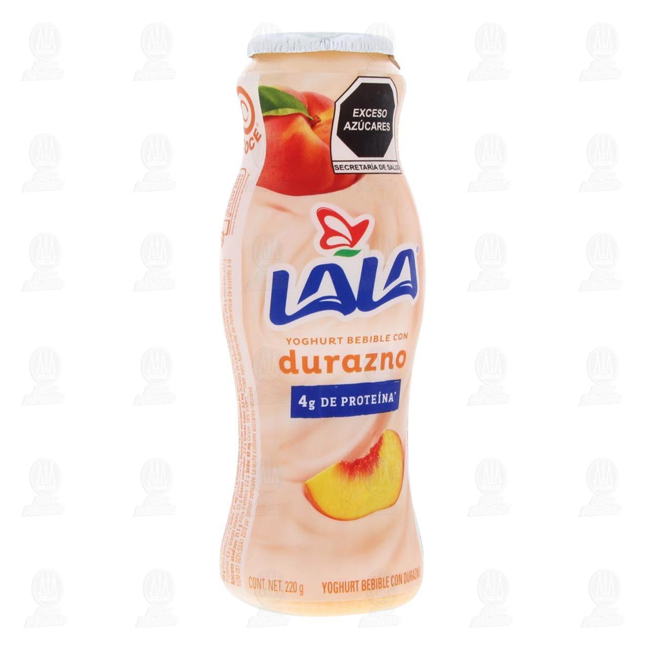 Yoghurt Bebible Lala con Durazno, 240 gr.