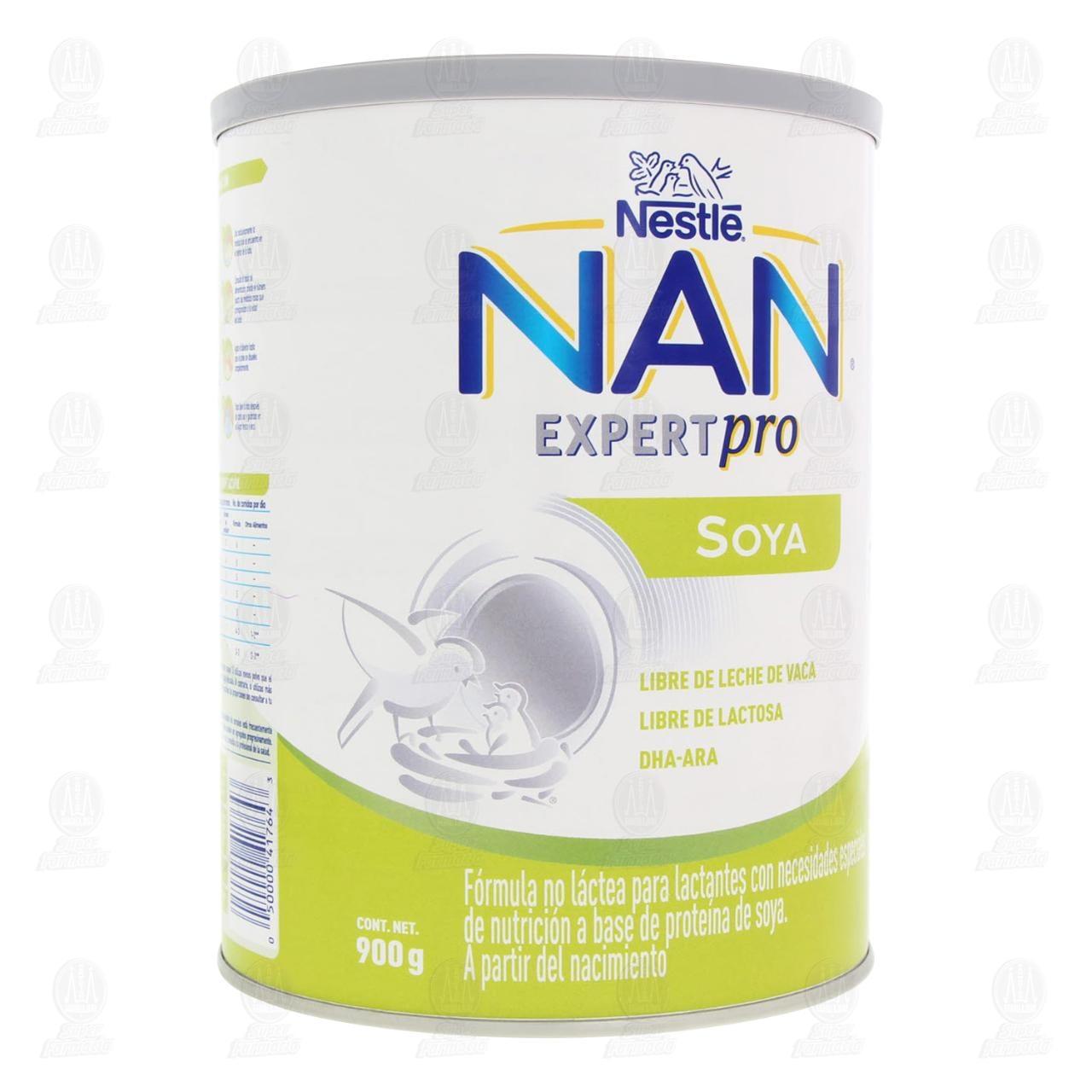 Comprar Fórmula Infantil NAN Expert Pro Soya (A Partir del Nacimiento), 900 gr. en Farmacias Guadalajara