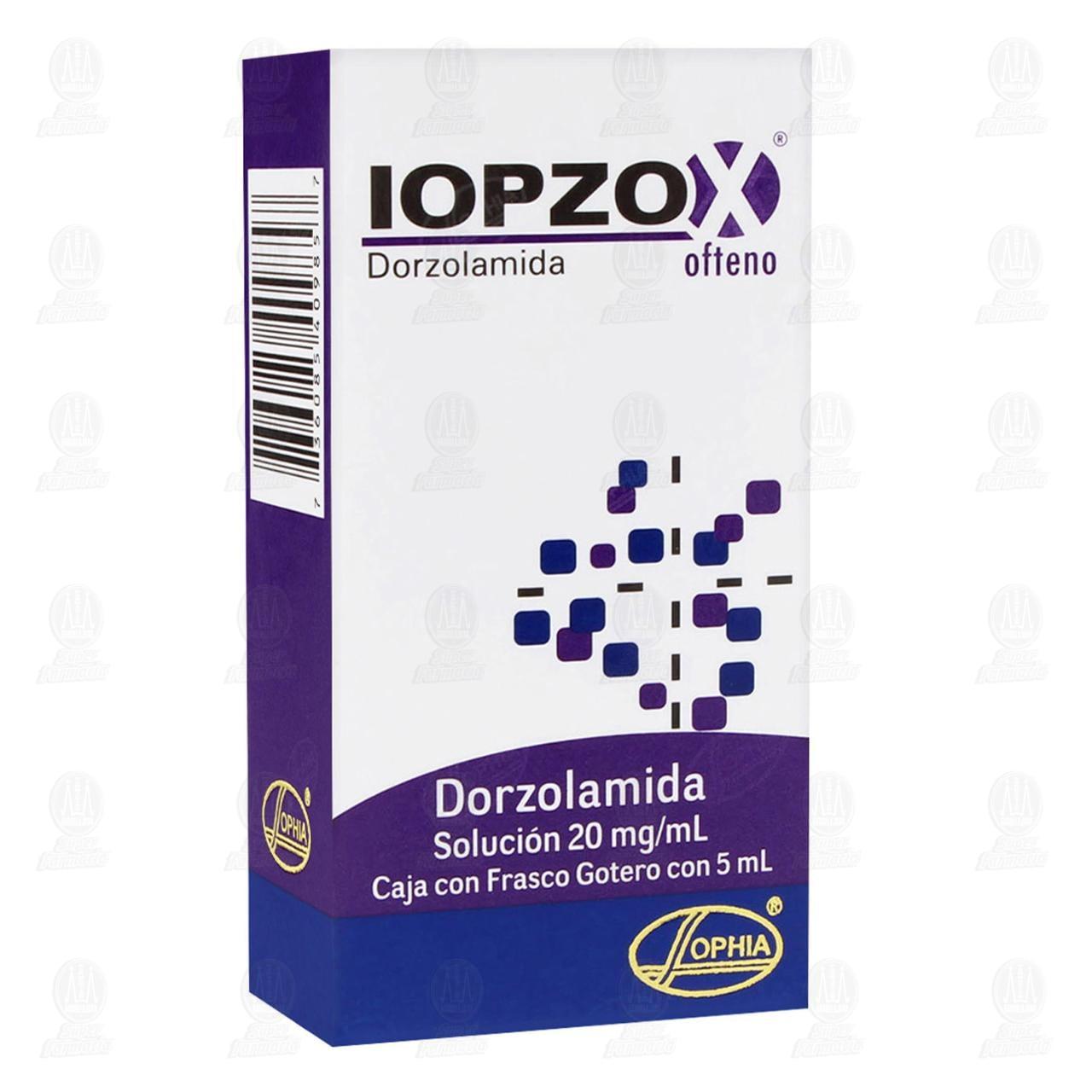 Comprar Iopzox Ofteno 20mg/ml 5ml Solución Gotas en Farmacias Guadalajara
