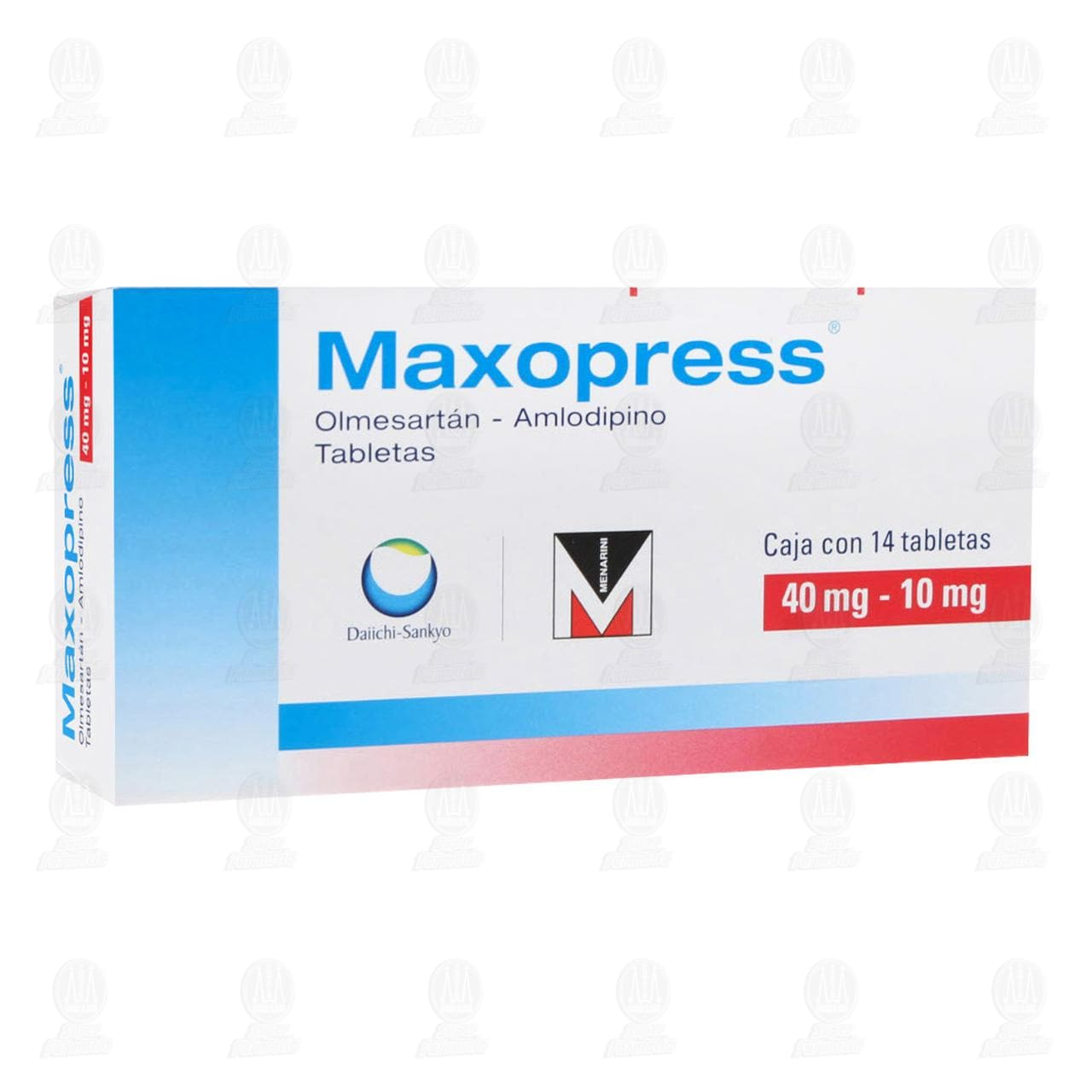 Comprar Maxopress 40mg/10mg 14 Tabletas en Farmacias Guadalajara