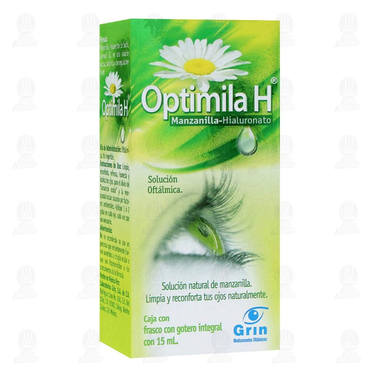 Comprar Optimila H 15ml Solución Oftálmica Gotas en Farmacias Guadalajara