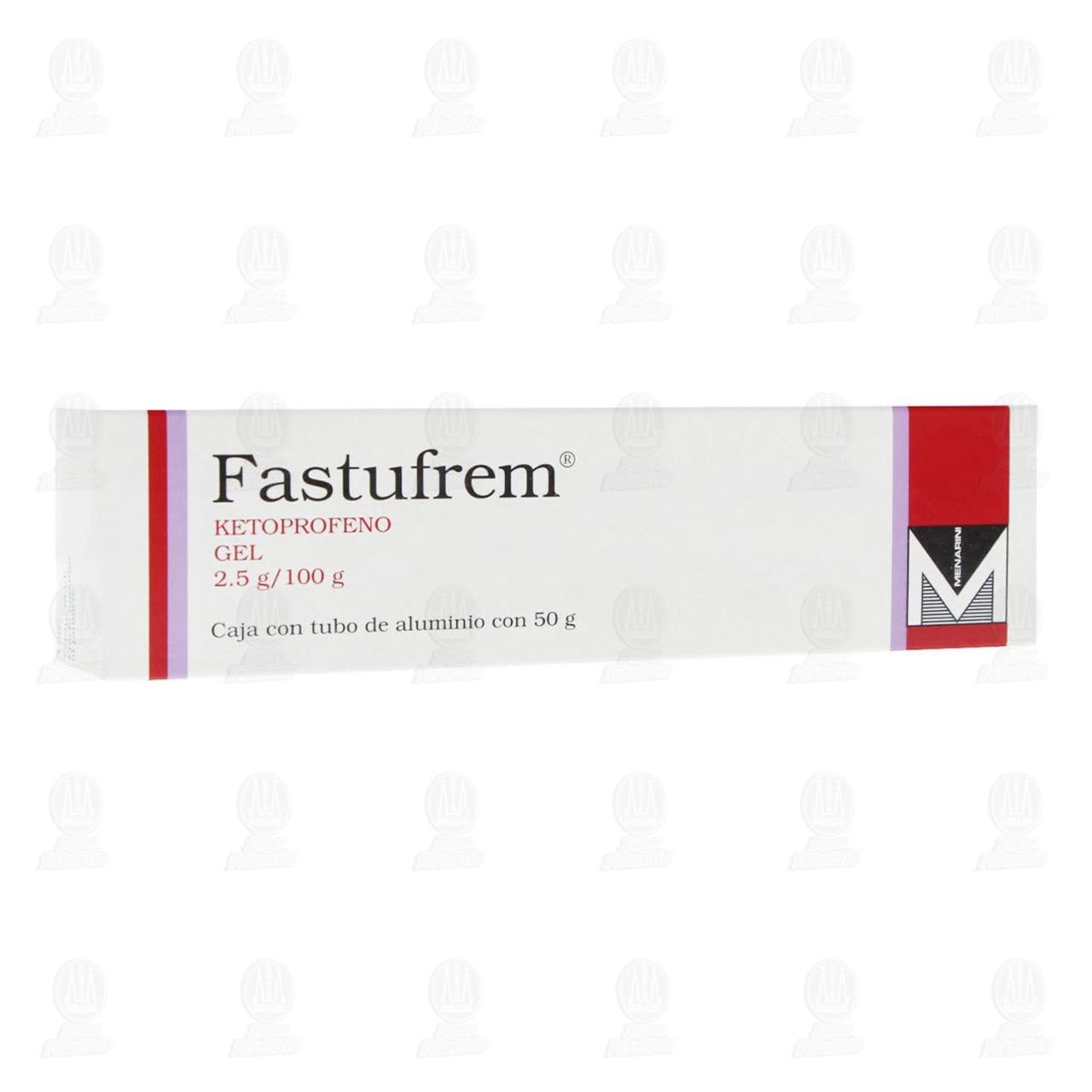 Comprar Fastufrem Gel 2.5gr/100gr Tubo 50gr en Farmacias Guadalajara
