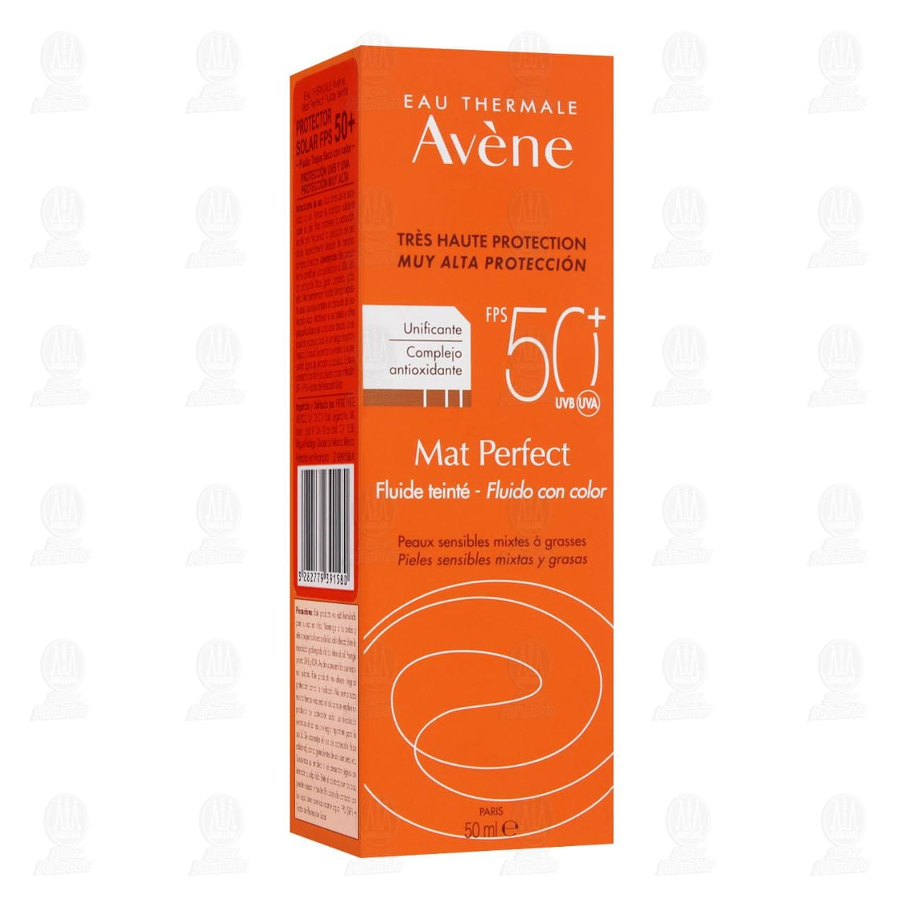 Comprar Avène Mat Perfect Fluido FPS 50+ Con Color, 50 ml. en Farmacias Guadalajara