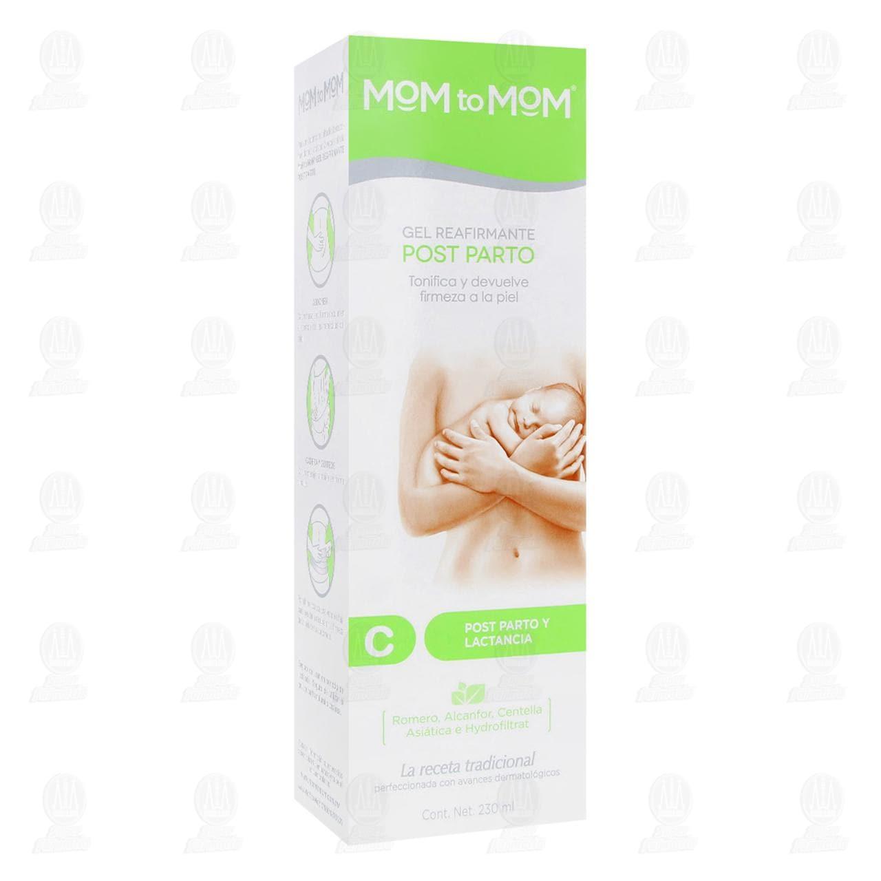 Comprar Mom to Mom Gel Reafirmante Post Parto, 230ml. en Farmacias Guadalajara