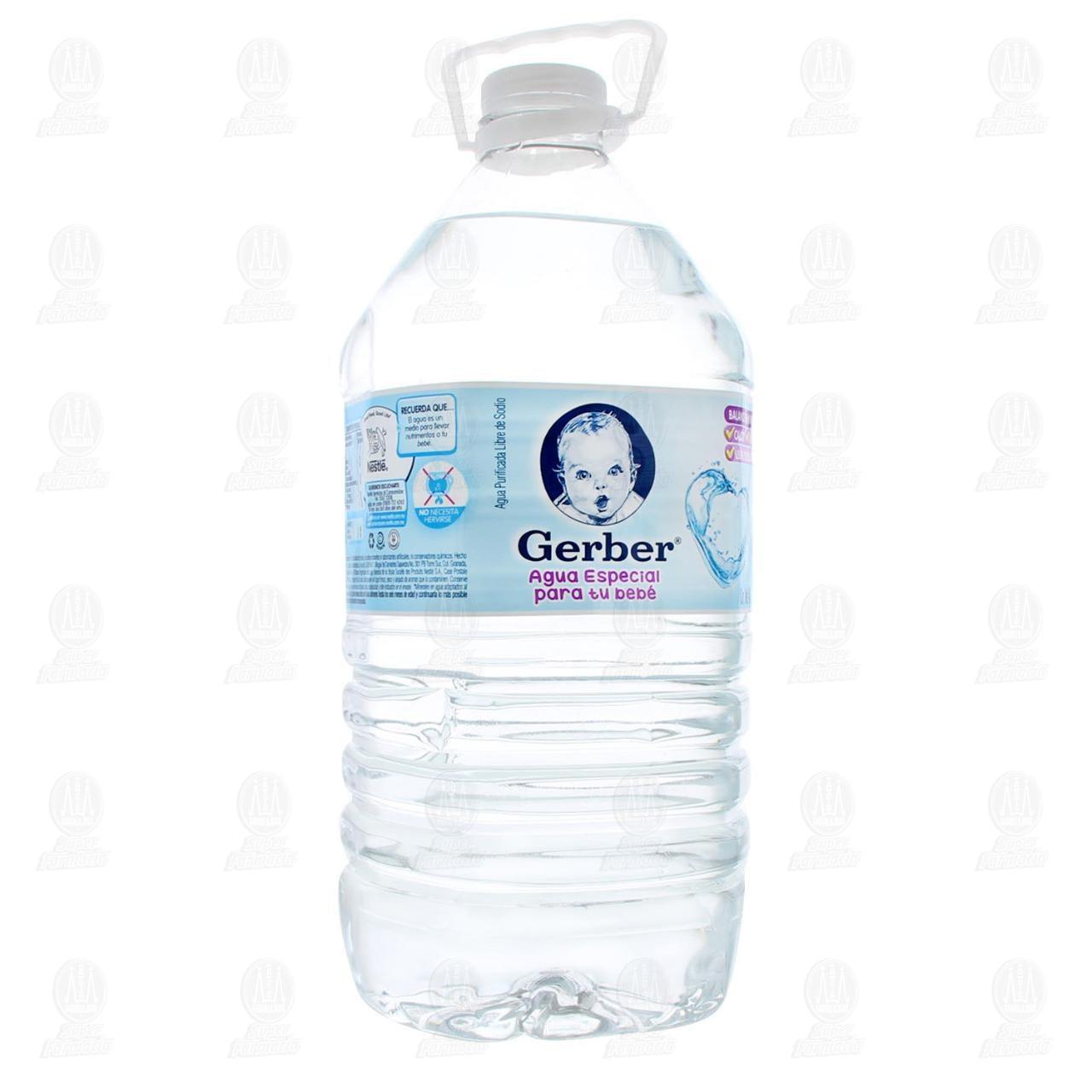 Comprar Agua Gerber Natural, 4 l. en Farmacias Guadalajara