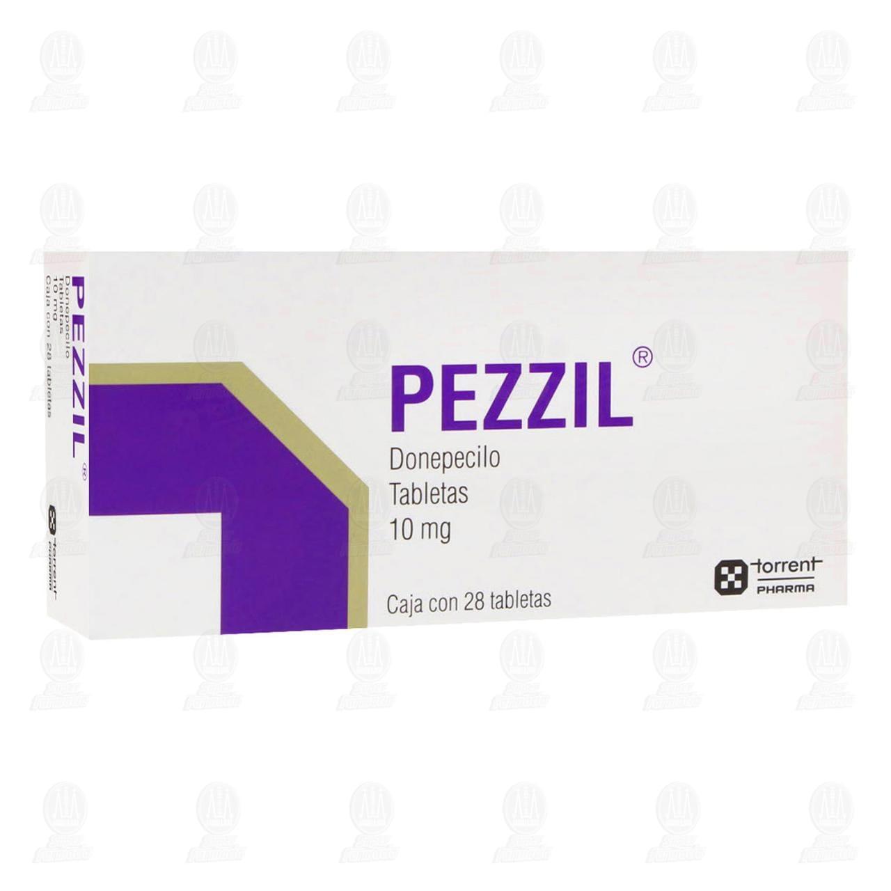 Comprar Pezzil 10mg 28 Tabletas en Farmacias Guadalajara