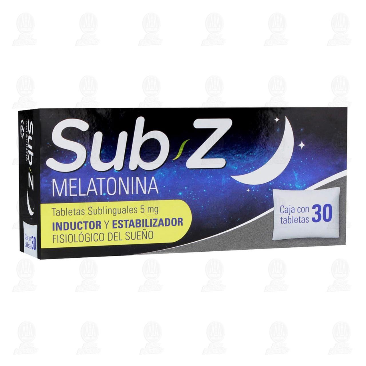Comprar Sub-Z 5mg 30 Tabletas Sublinguales en Farmacias Guadalajara
