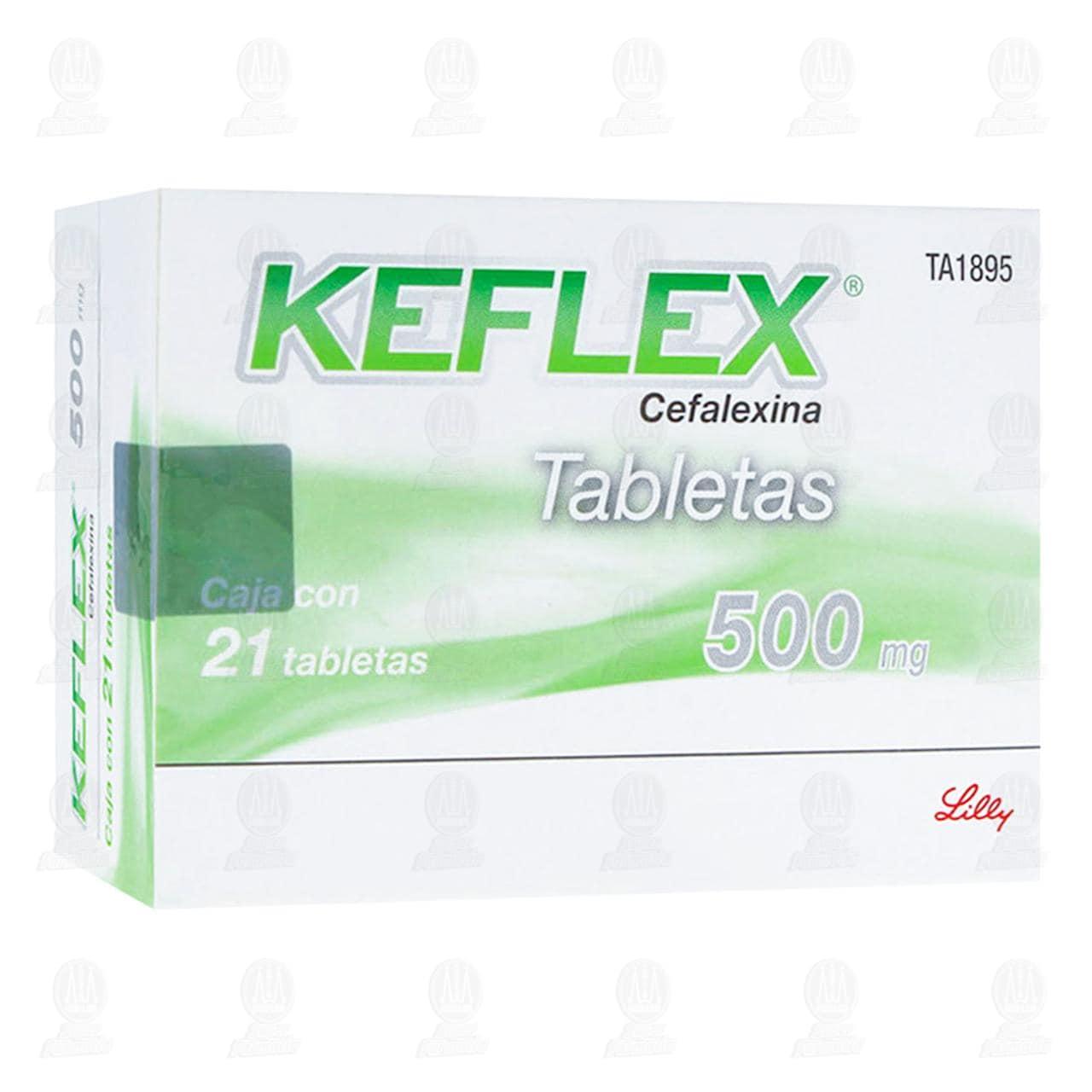 Comprar Keflex 500mg 21 Tabletas en Farmacias Guadalajara