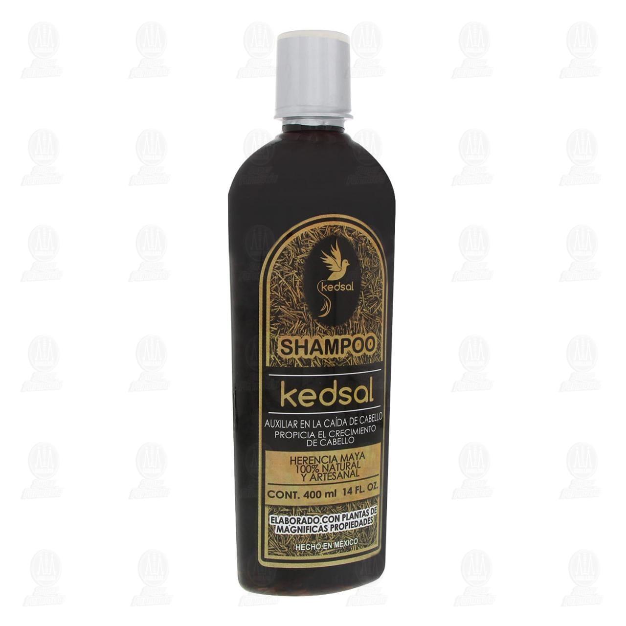 Comprar Shampoo Kedsal Auxiliar en la Caída del Cabello 100% Natural, 400 ml. en Farmacias Guadalajara