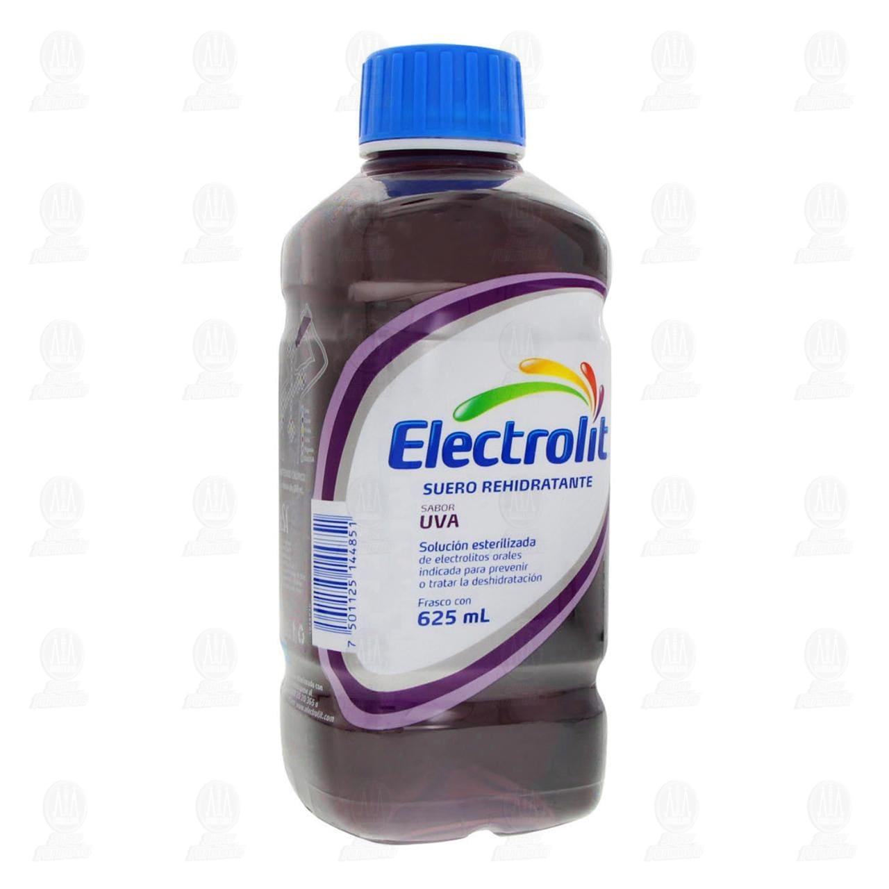 Comprar Electrolit Uva Oral 625ml en Farmacias Guadalajara