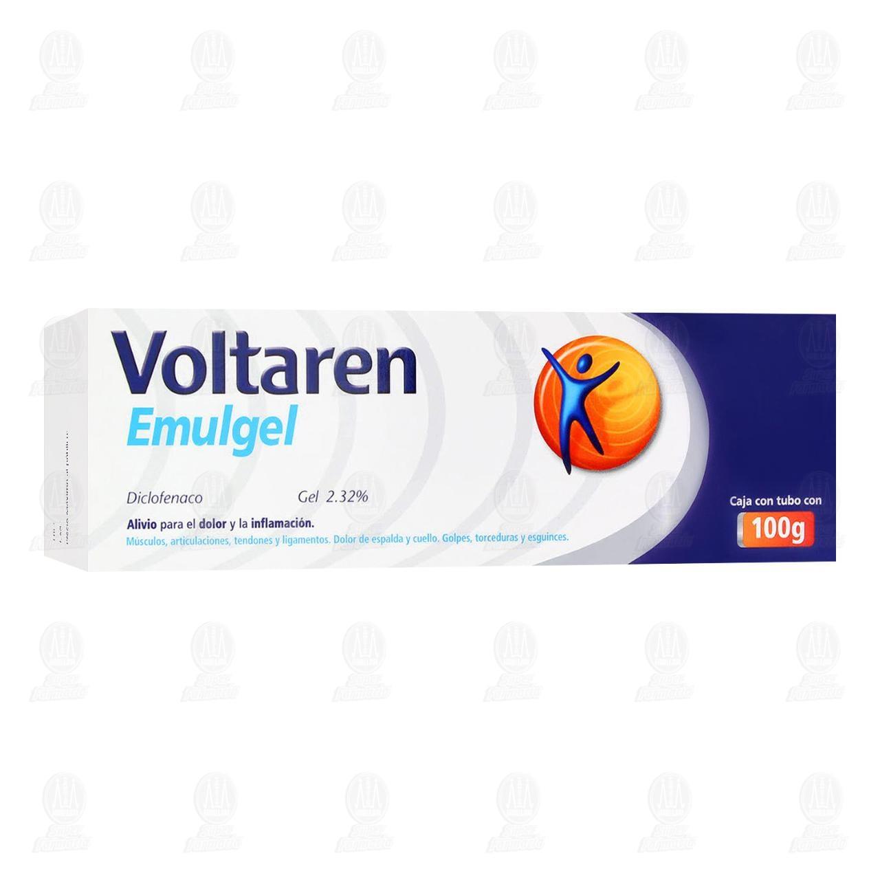 Comprar Voltaren Emulgel 100gr en Farmacias Guadalajara