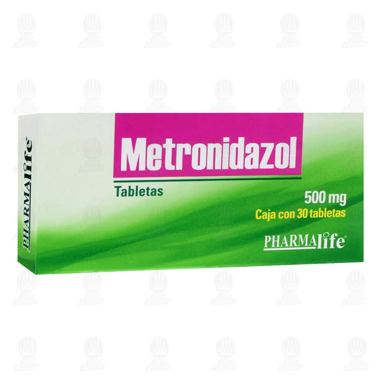 Comprar Metronidazol 500mg 30 Tabletas Pharmalife en Farmacias Guadalajara