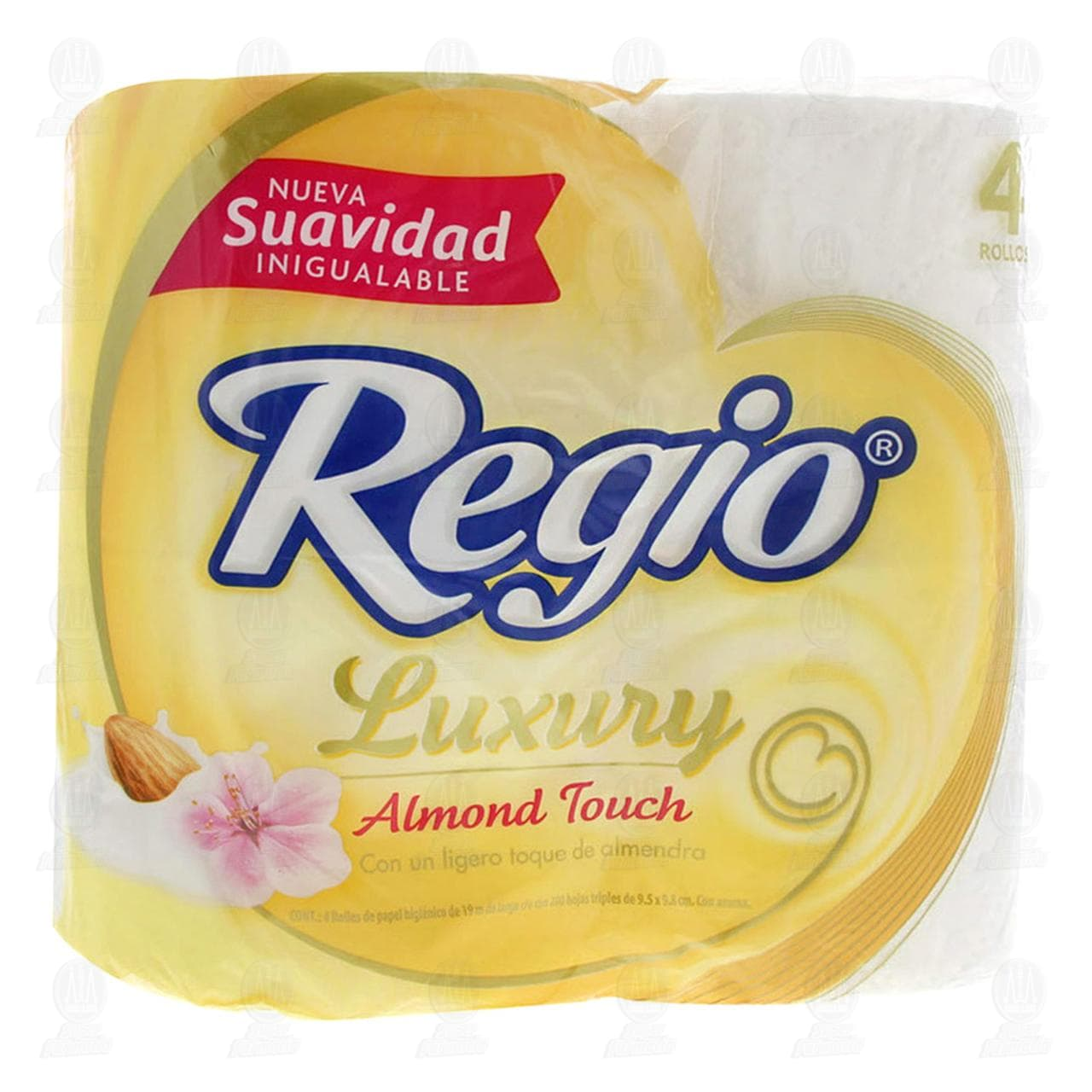 Comprar Papel Higiénico Regio Almond Touch, 4 pzas. en Farmacias Guadalajara
