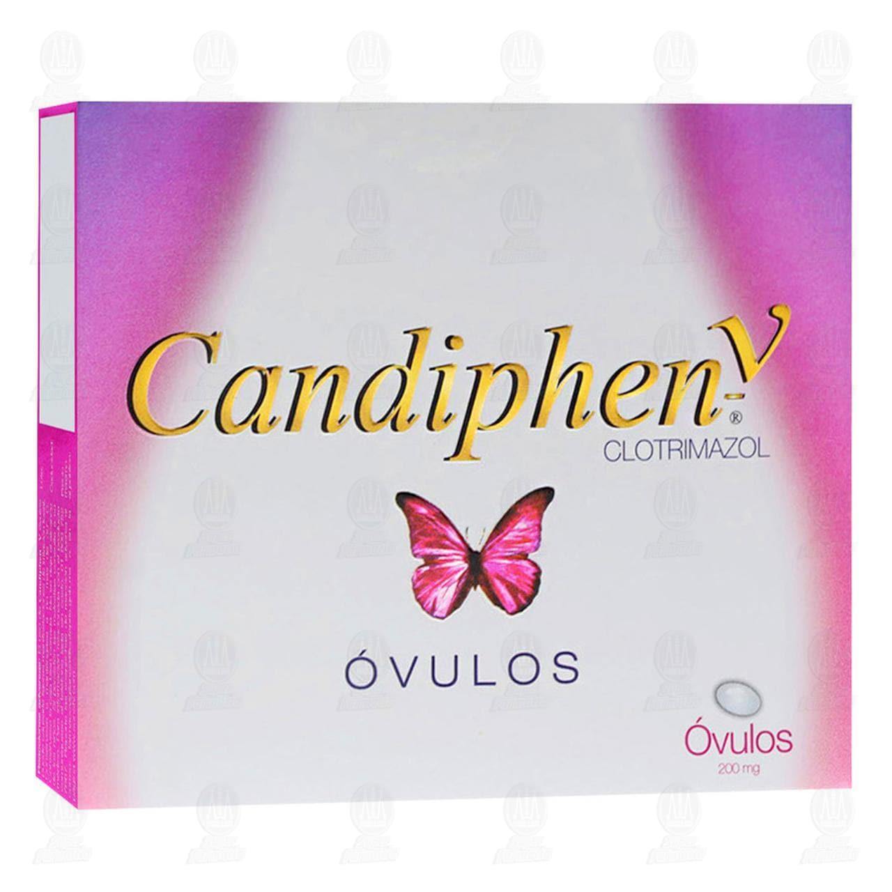 Comprar Candiphen V Óvulos 200mg 3pzas en Farmacias Guadalajara
