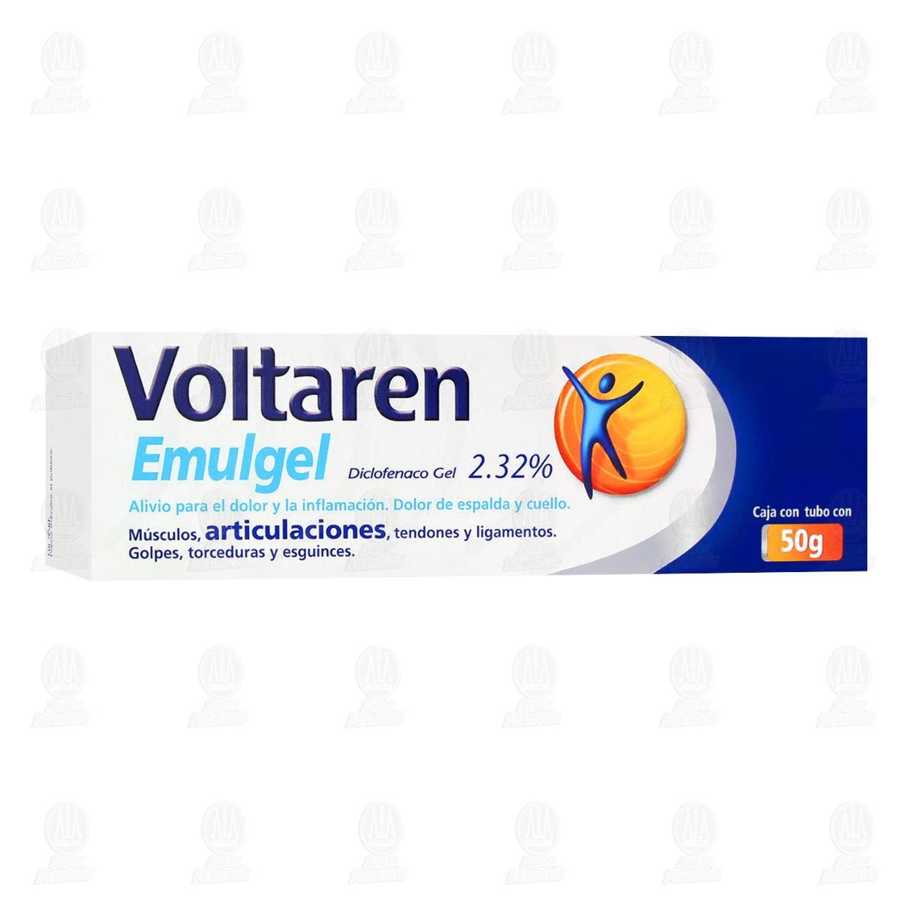Comprar Voltaren Emulgel 50gr en Farmacias Guadalajara