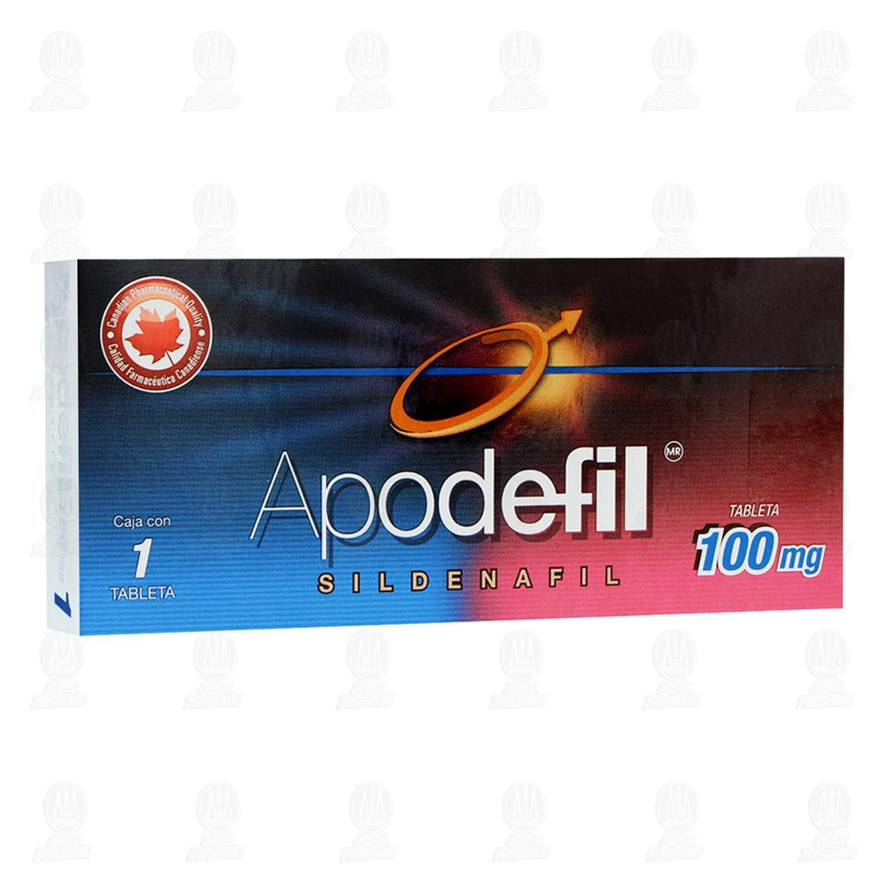 Comprar Apodefil 100mg 1 Tableta en Farmacias Guadalajara