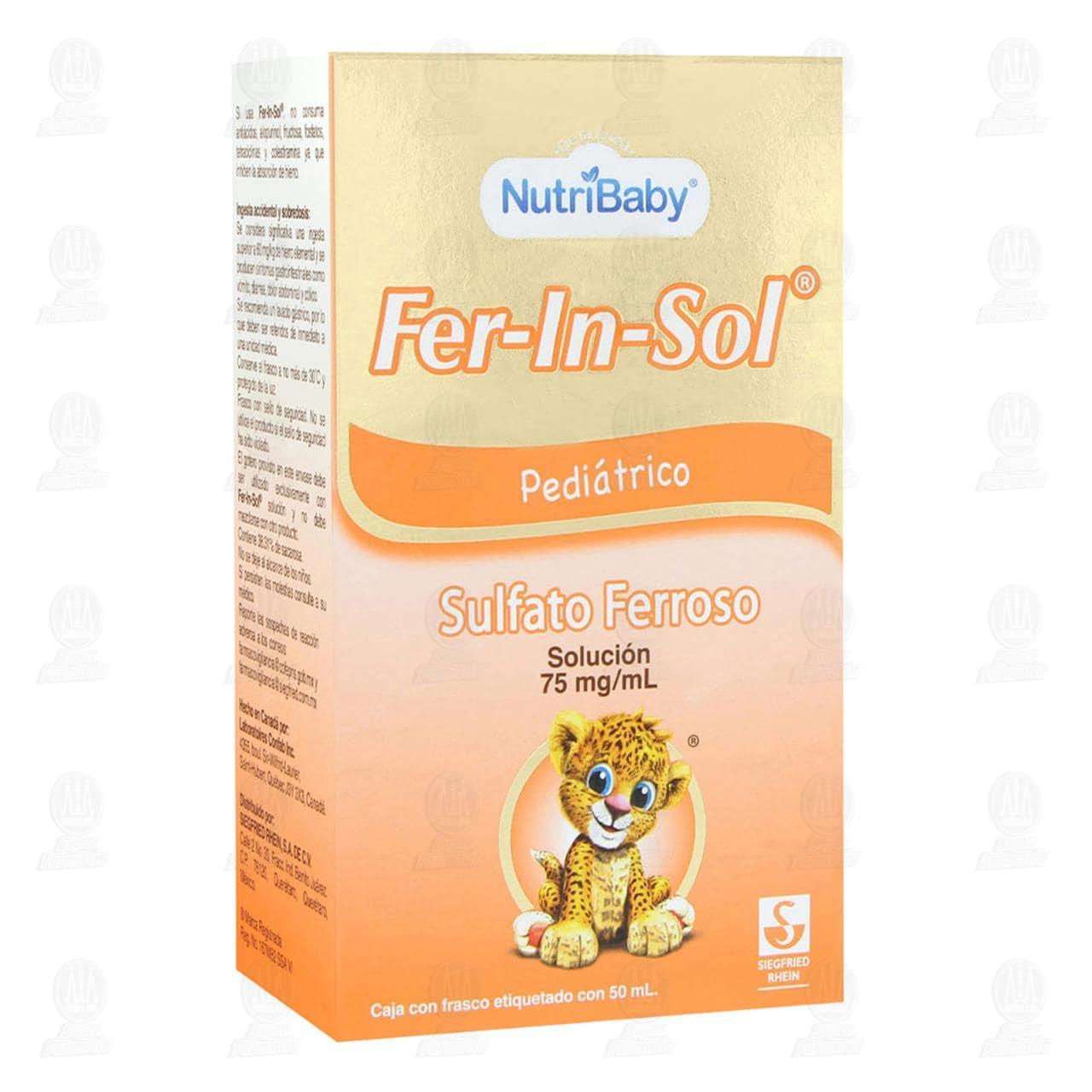 Comprar Fer-In-Sol 75mg/ml 50ml Solución Pediátrica en Farmacias Guadalajara